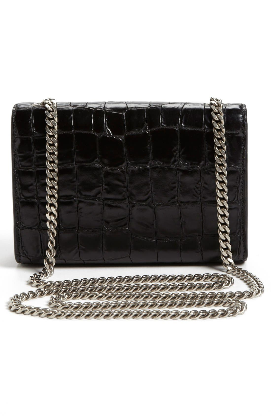 Alternate Image 3  - Saint Laurent 'Cassandre' Shoulder Bag, Small