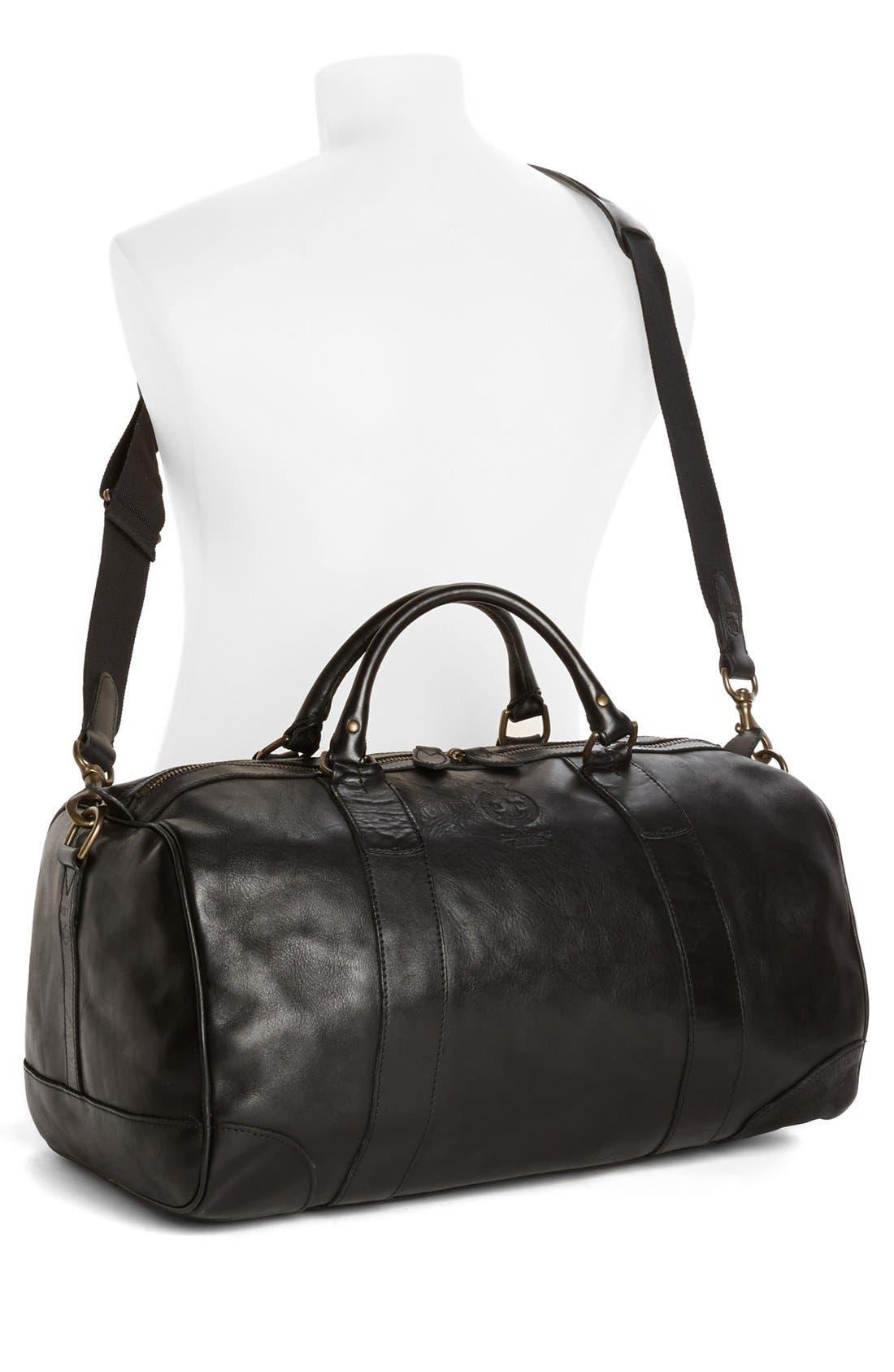 Alternate Image 2  - Polo Ralph Lauren Leather Gym Bag