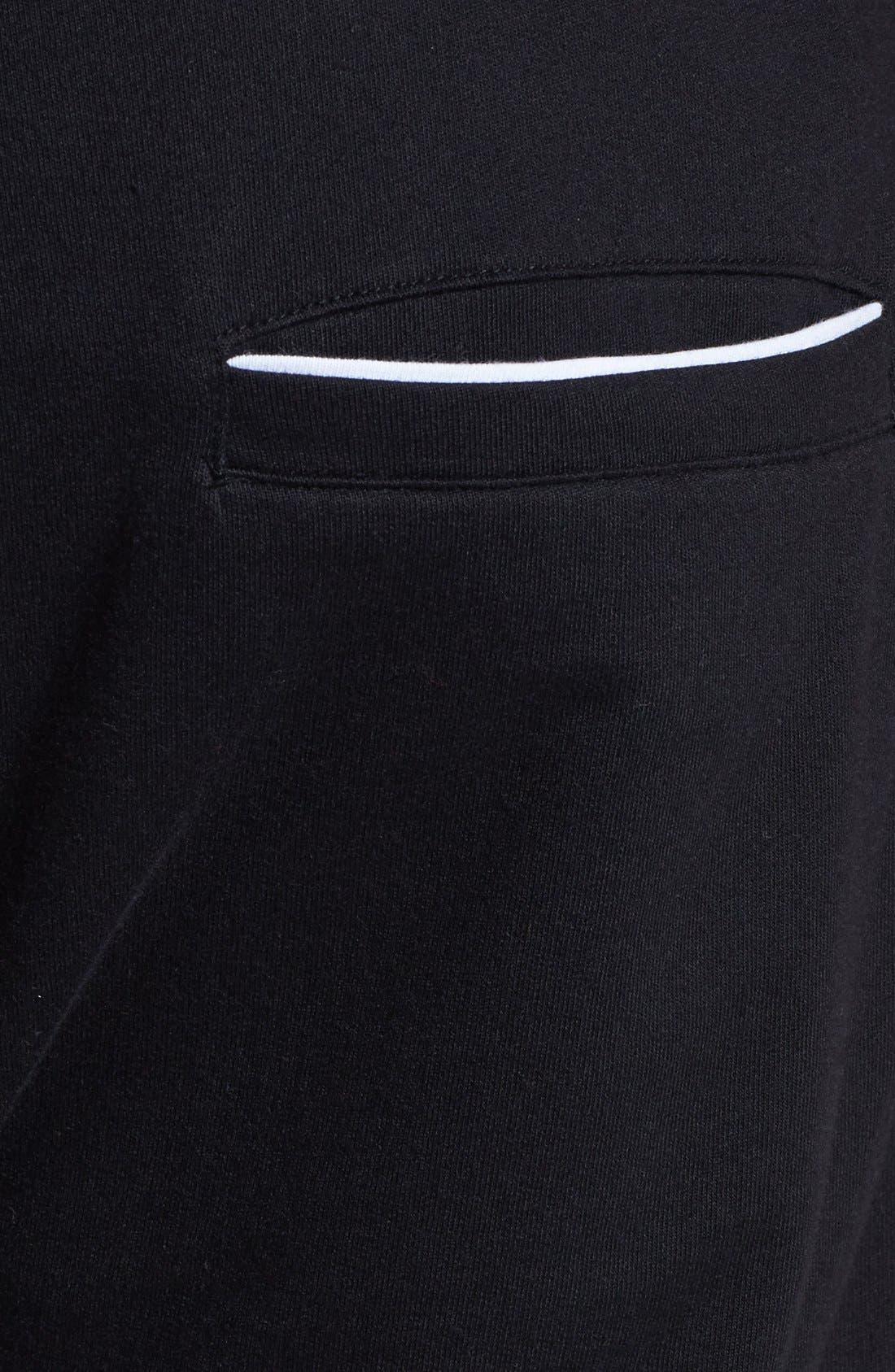 Alternate Image 3  - Topman Cotton Jogger Pants