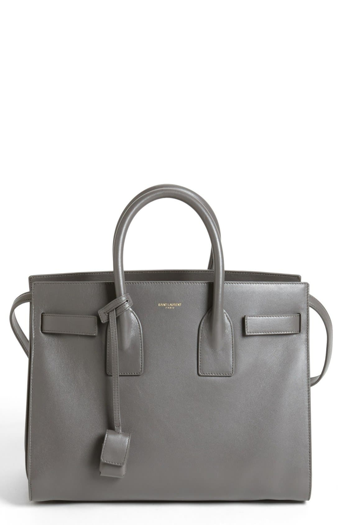 Alternate Image 1 Selected - Saint Laurent 'Small Sac de Jour' Leather Tote