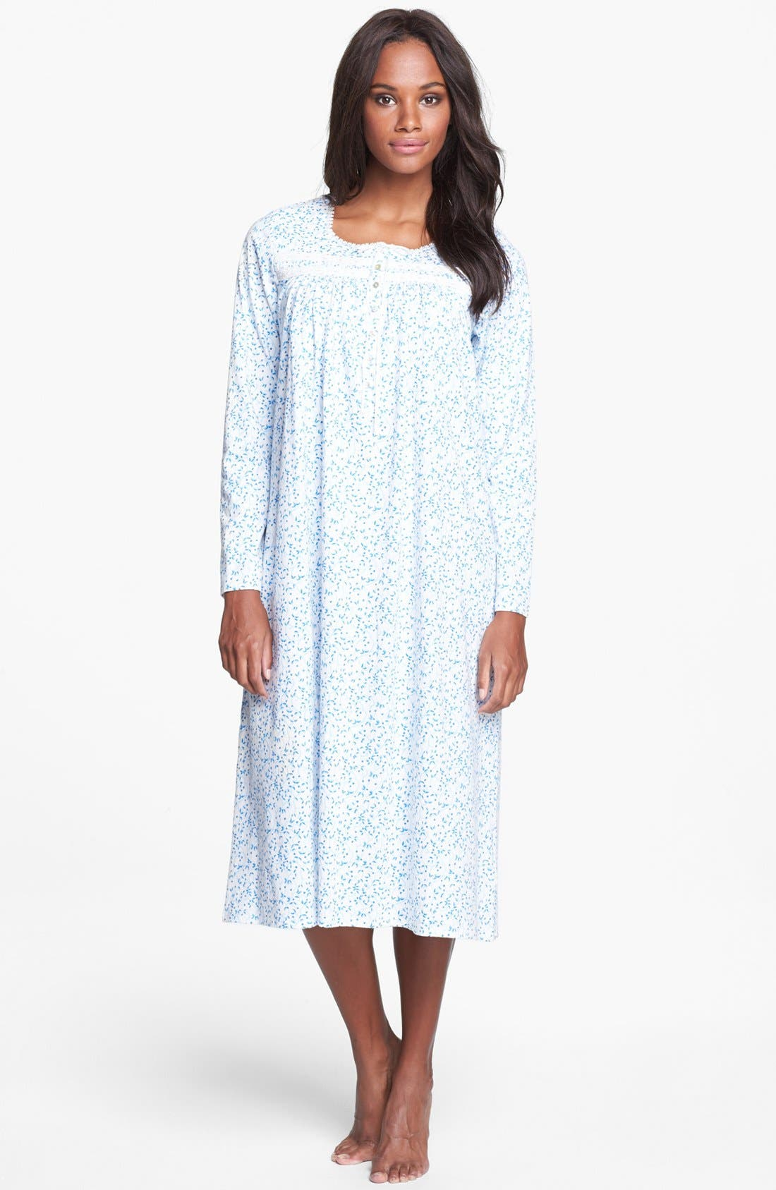 Alternate Image 1 Selected - Eileen West 'Festival of Lights' Knit Nightgown