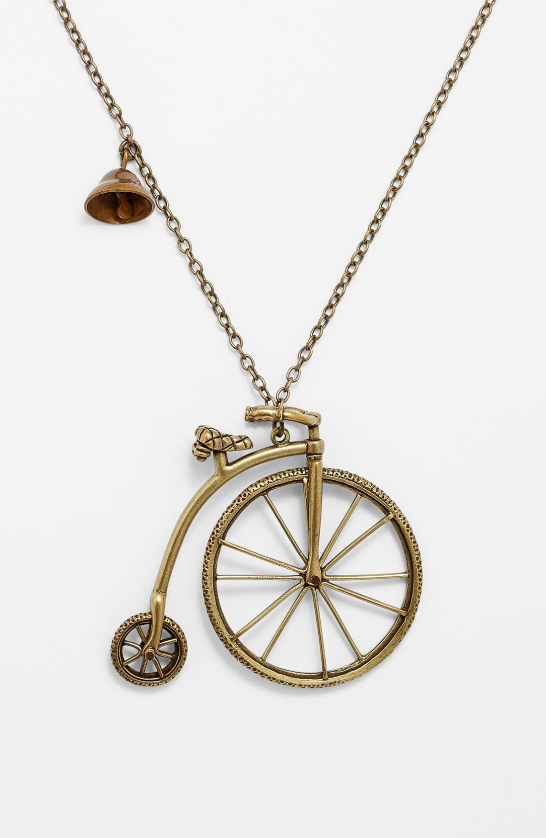 Alternate Image 2  - Nordstrom 'Antique Conversation' Bicycle Pendant Necklace