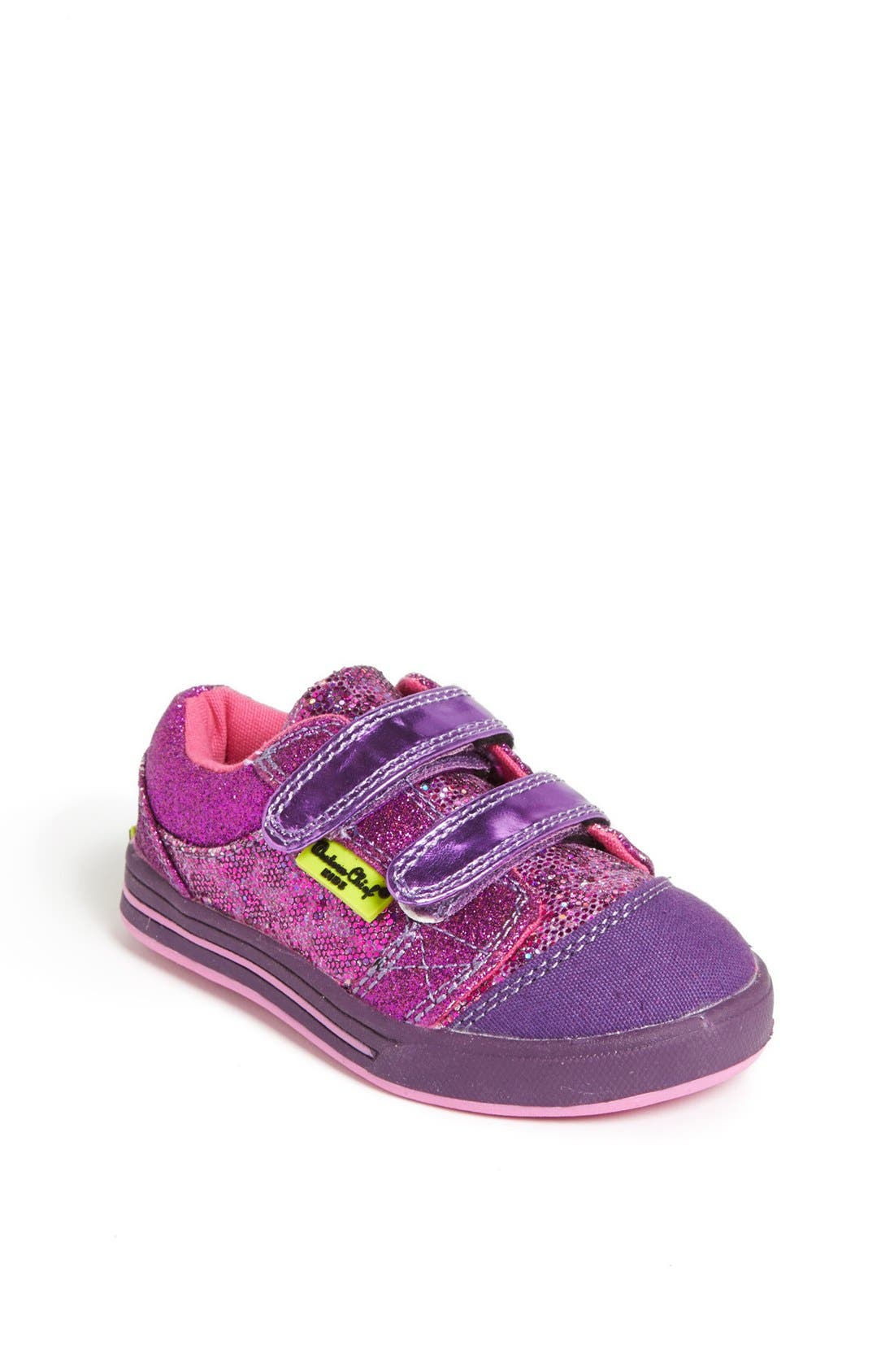 Alternate Image 1 Selected - Western Chief 'Glam Kitty' Sneaker (Walker & Toddler)