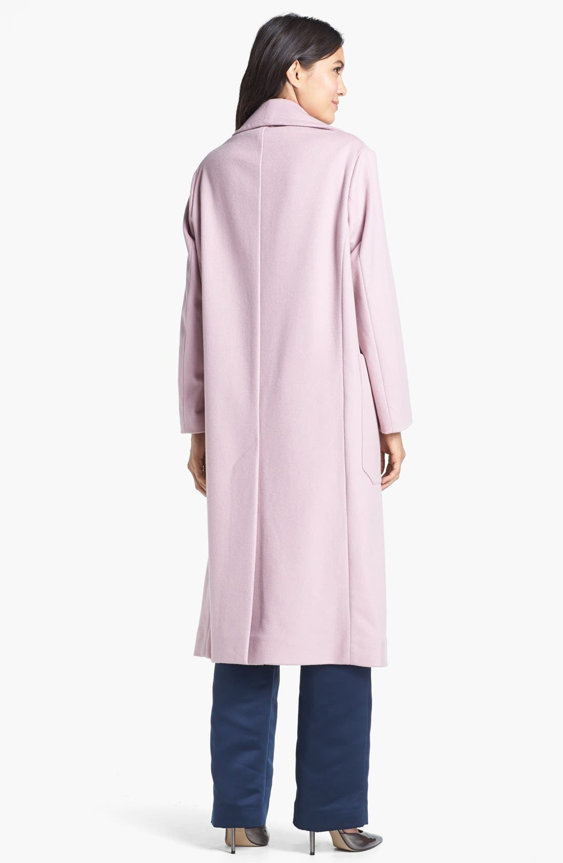 Alternate Image 3  - Topshop Unique Long Wool Blend Coat