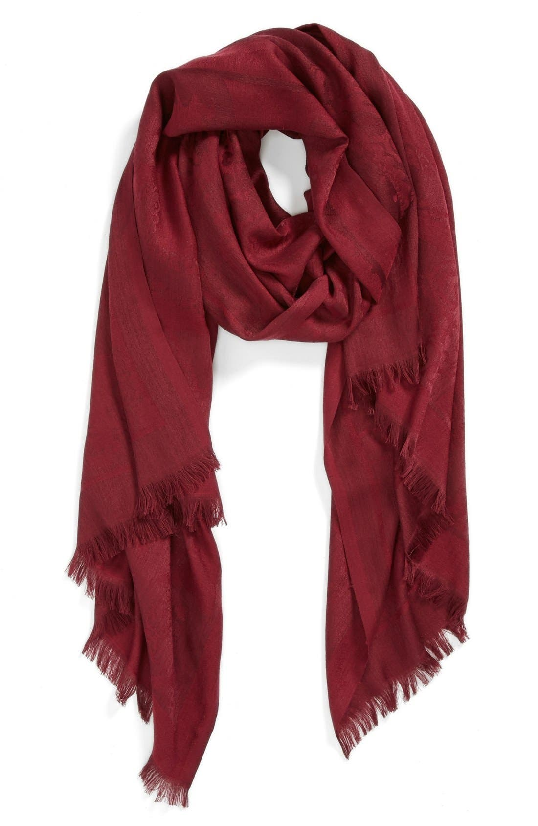 Alternate Image 1 Selected - Vince Camuto Jacquard Scarf
