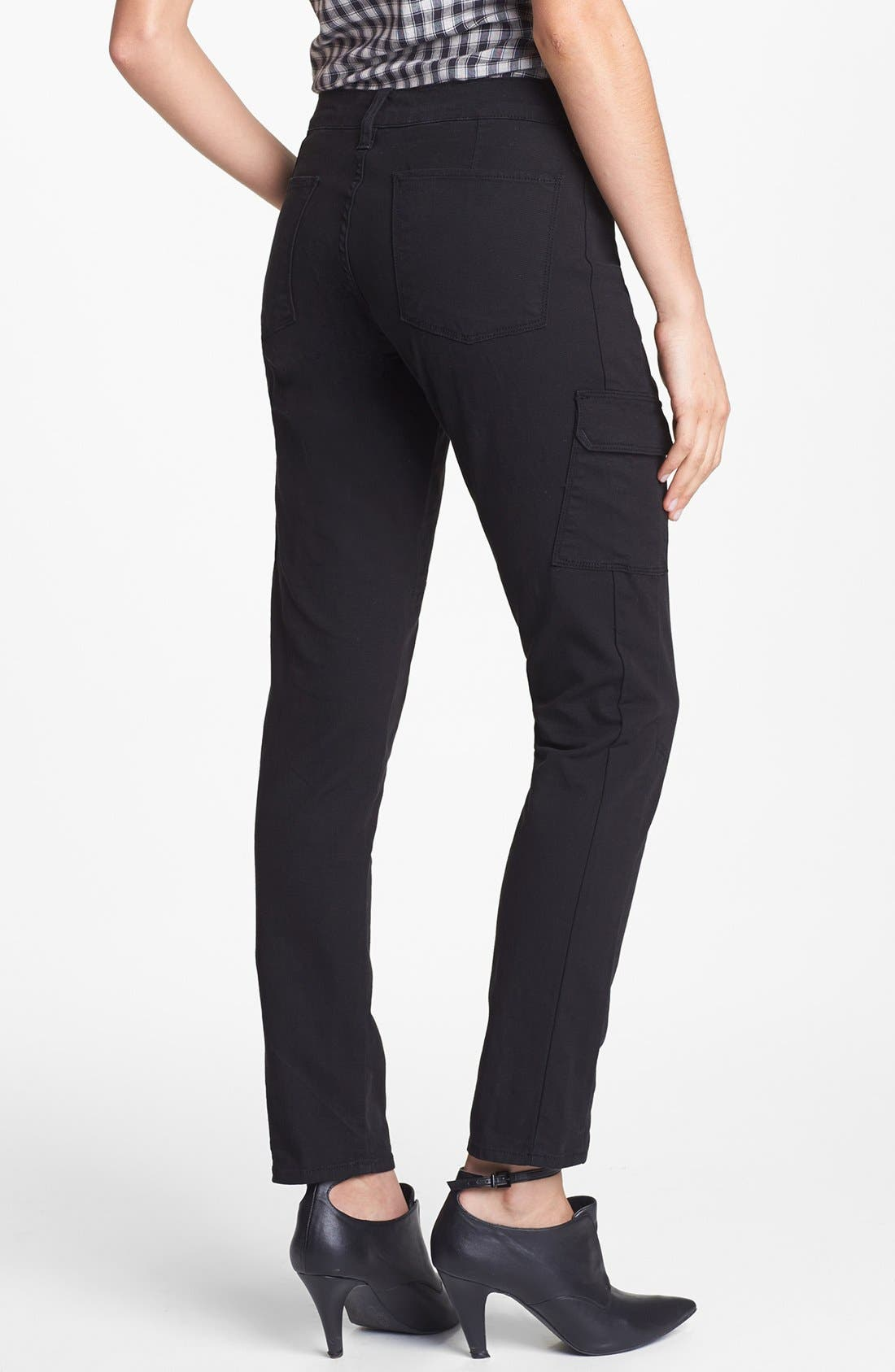 Alternate Image 2  - Lucky Brand Skinny Cargo Pants