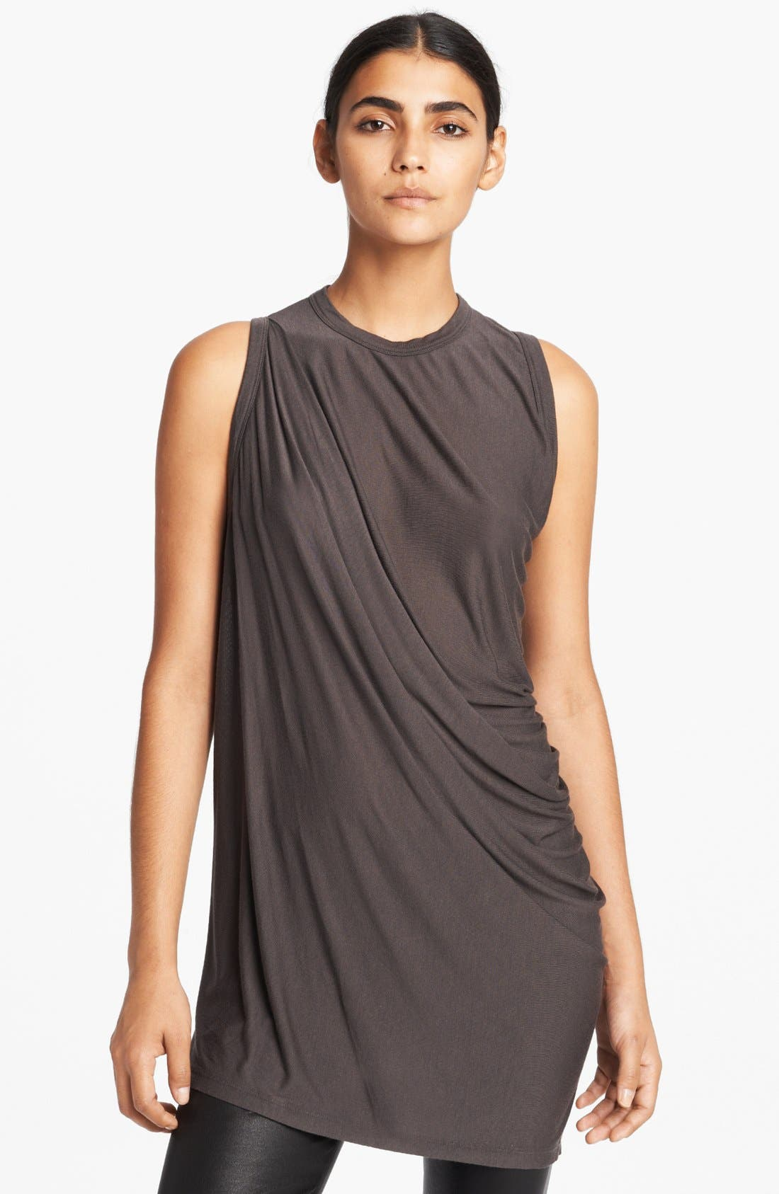 Alternate Image 1 Selected - Rick Owens Twisted Jersey Tank