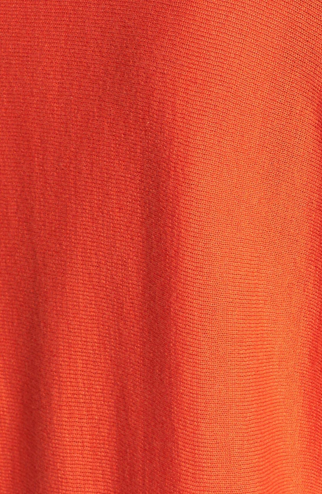 Alternate Image 3  - MICHAEL Michael Kors Zip Shoulder Cowl Neck Sweater (Regular & Petite)