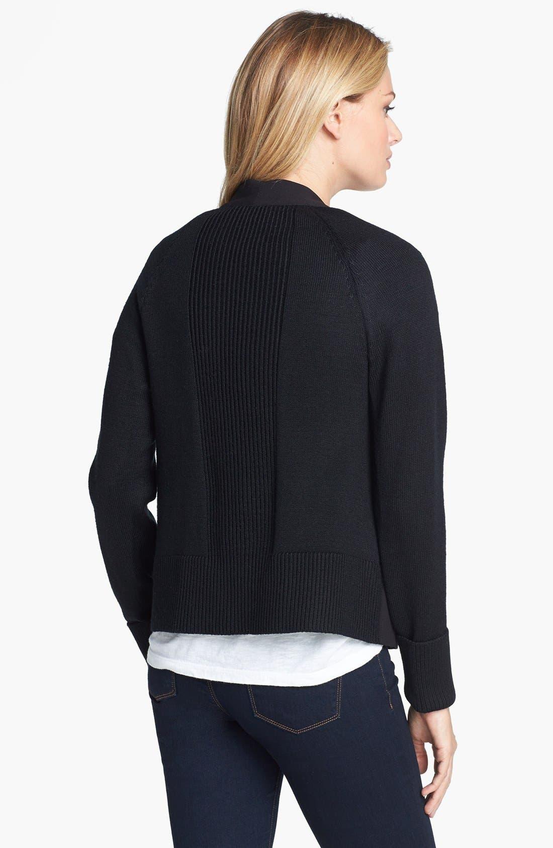 Alternate Image 2  - Calvin Klein Open Front Jacket