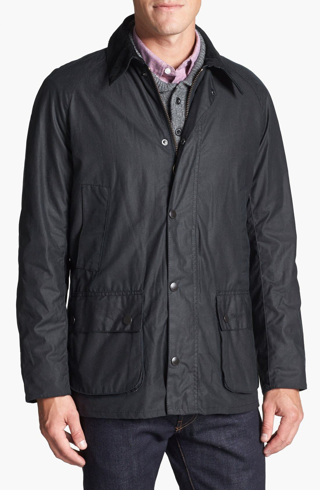 Alternate Image 1 Selected - Barbour 'Ashby' Regular Fit Waterproof Jacket