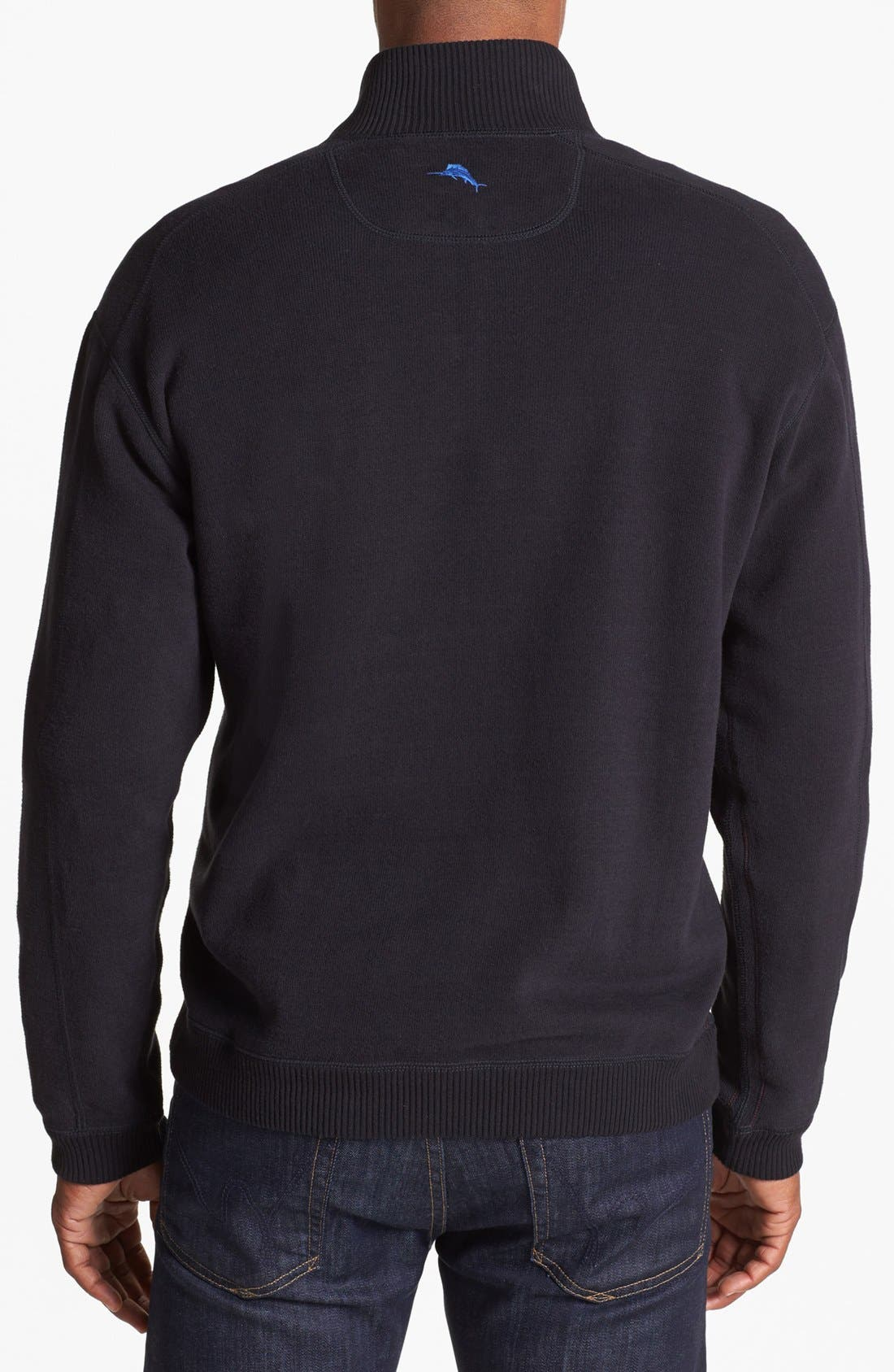 Alternate Image 3  - Tommy Bahama 'Flip Side Pro' Half Zip Pullover (Big & Tall)