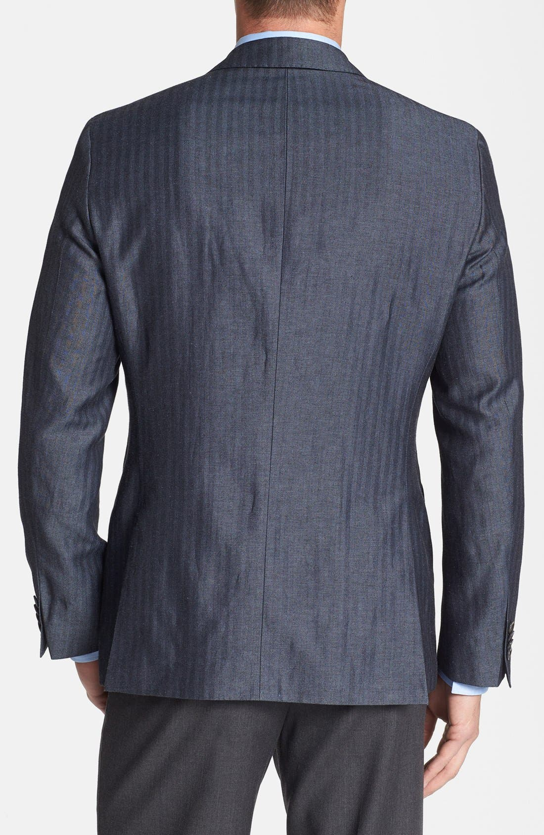 Alternate Image 2  - BOSS HUGO BOSS 'Johnston' Trim Fit Herringbone Sportcoat