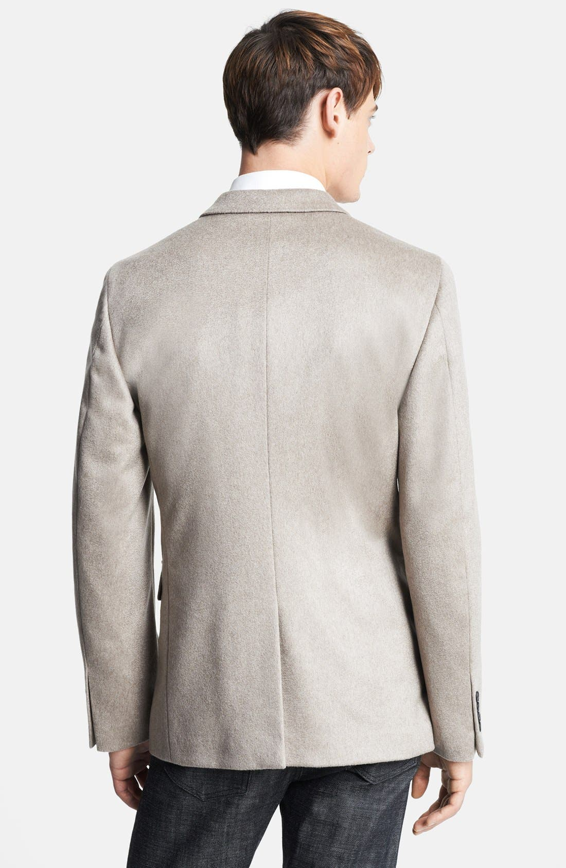 Alternate Image 3  - Burberry London 'Merridale' Extra Trim Fit Cashmere Sportcoat