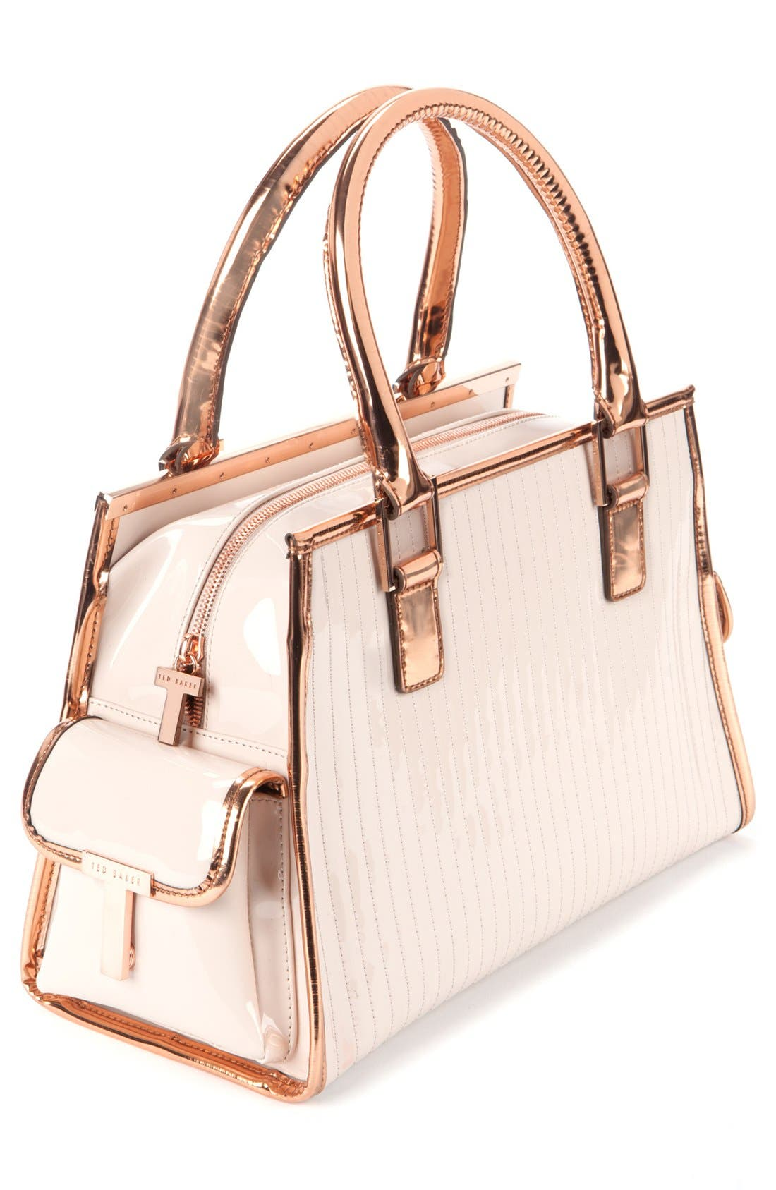 Alternate Image 3  - Ted Baker London Quilted Patent Leather Tote