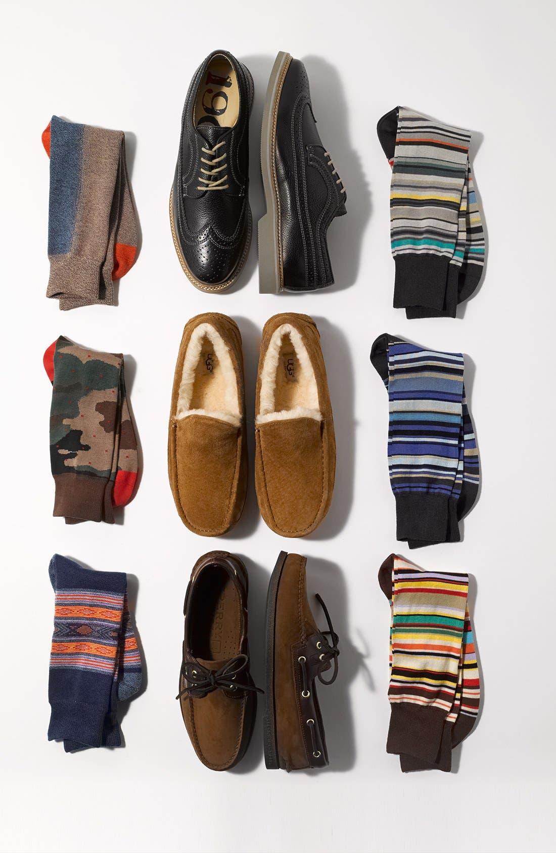 Alternate Image 3  - Mr. Gray Colorblock Socks