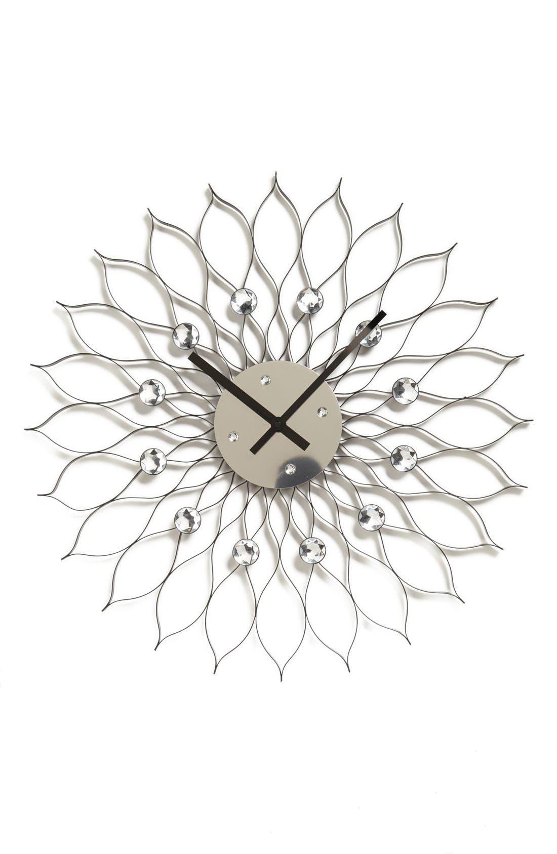 Alternate Image 1 Selected - World Friendly World 'Sunflower' Clock
