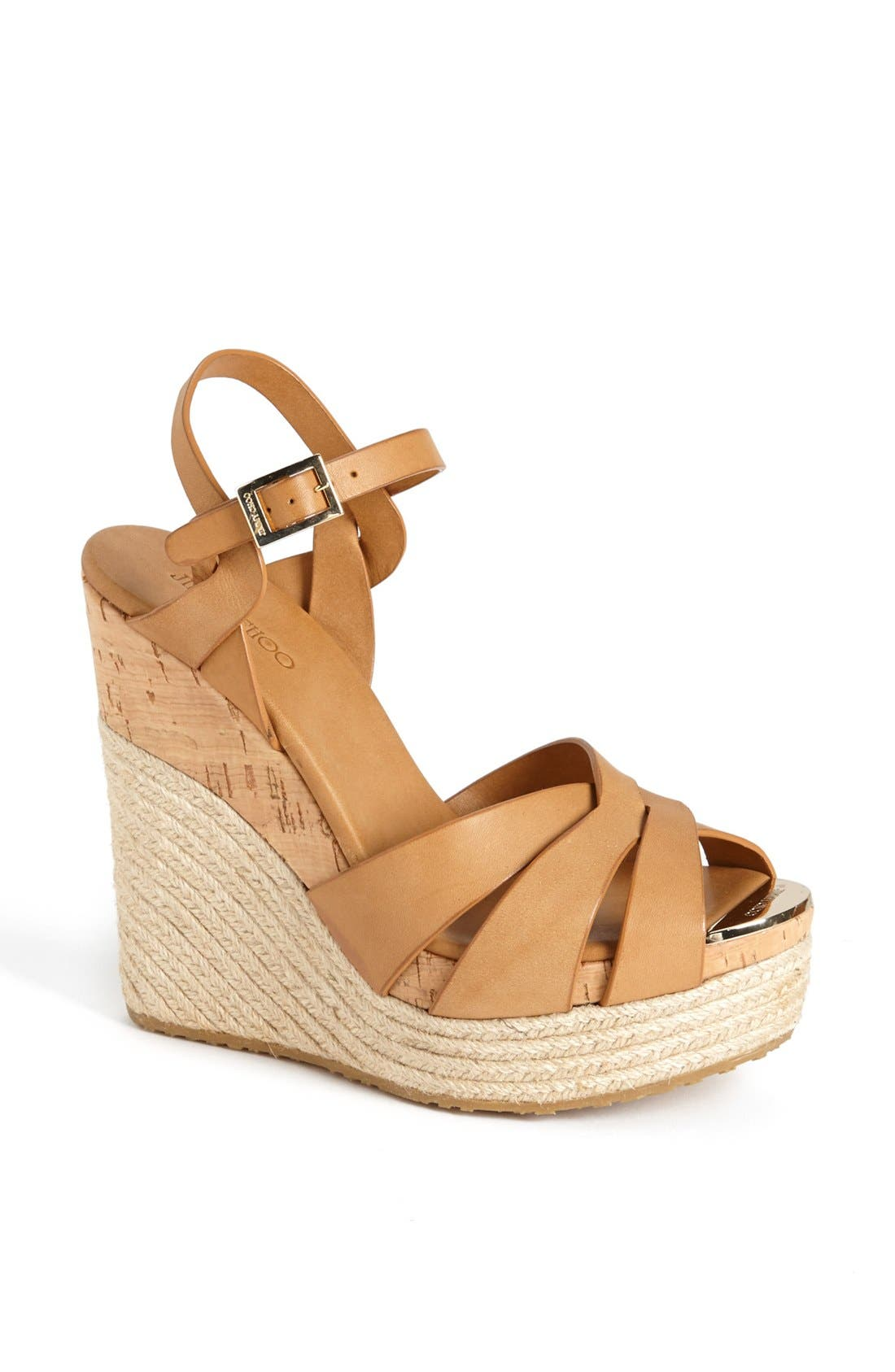 Alternate Image 1 Selected - Jimmy Choo 'Peddle' Wedge Sandal