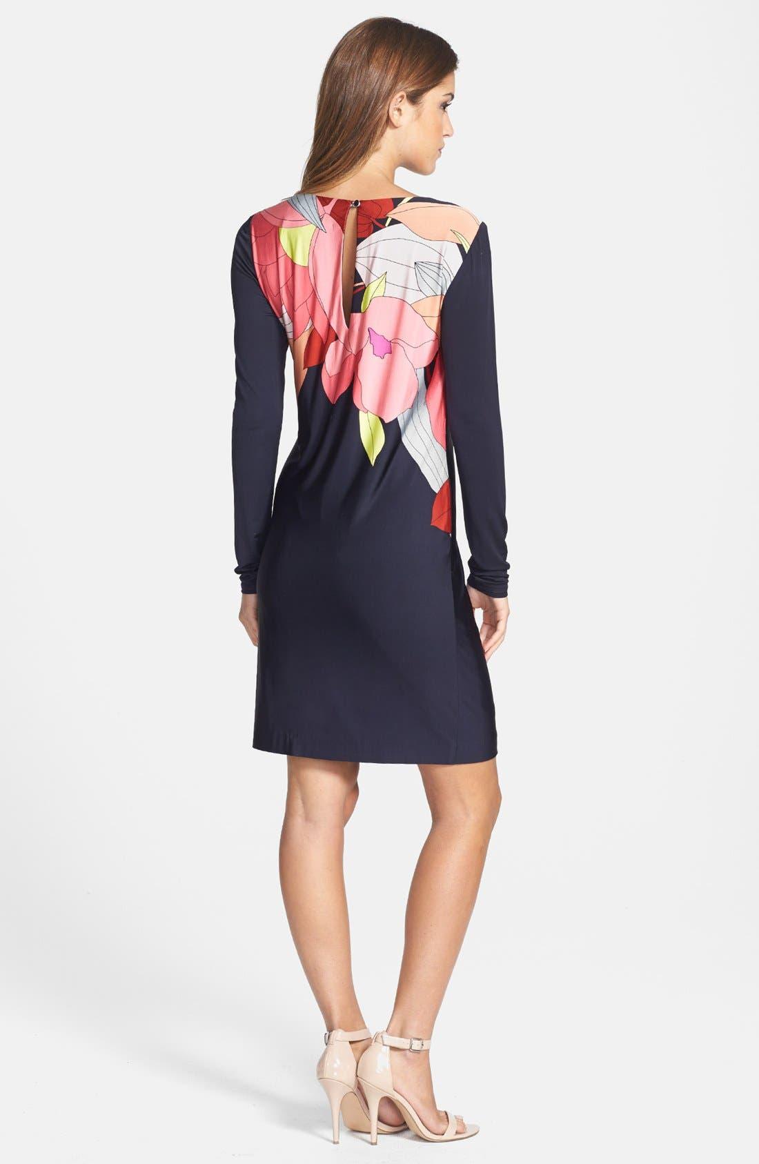 Alternate Image 2  - Trina Turk 'Tahiti' Print Jersey Dress