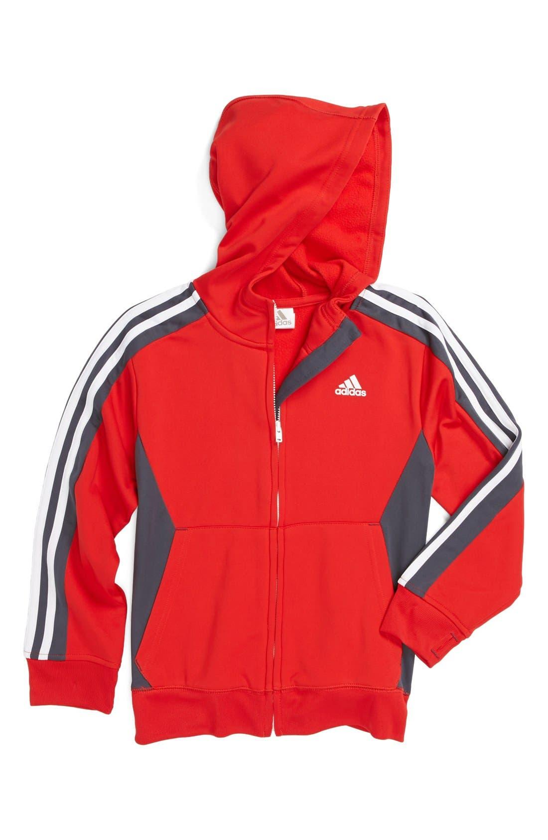 Alternate Image 1 Selected - adidas 'Prime' Jacket (Little Boys)