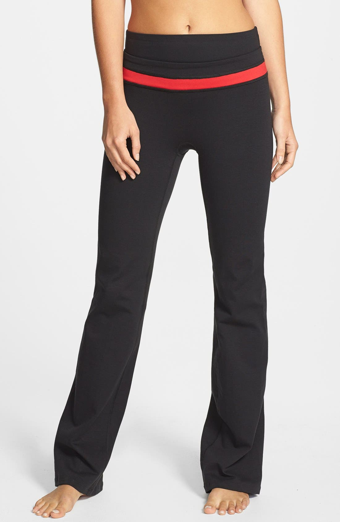Alternate Image 1 Selected - SPANX® 'Power Color Band' Workout Pants