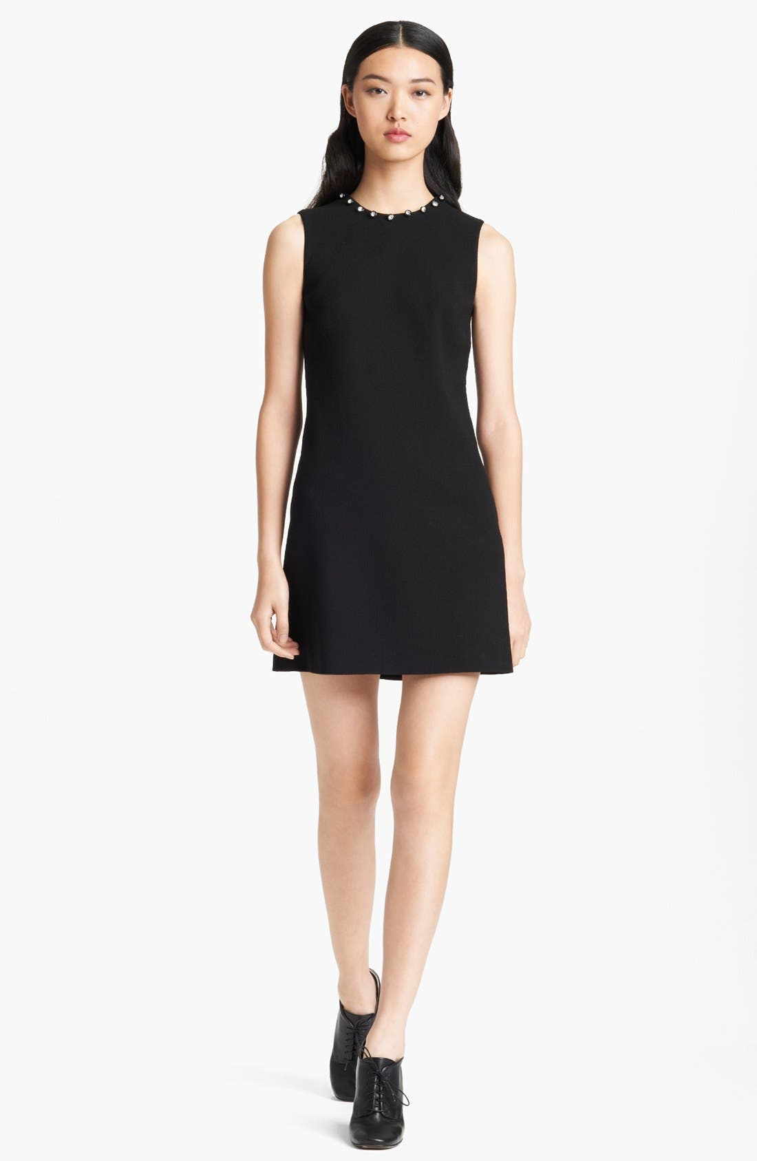 Main Image - Christopher Kane Swarovski Crystal Detail Crepe Dress