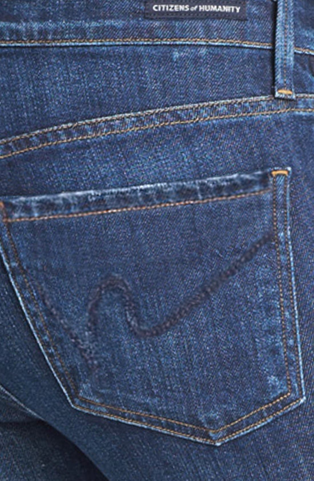 Alternate Image 3  - Citizens of Humanity 'Emmanuelle' Slim Bootcut Jeans (Element)