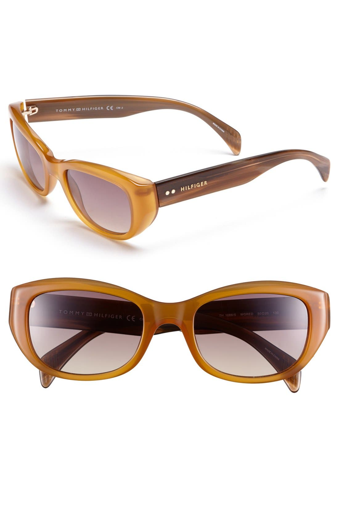 Alternate Image 1 Selected - Tommy Hilfiger 50mm Cat Eye Sunglasses