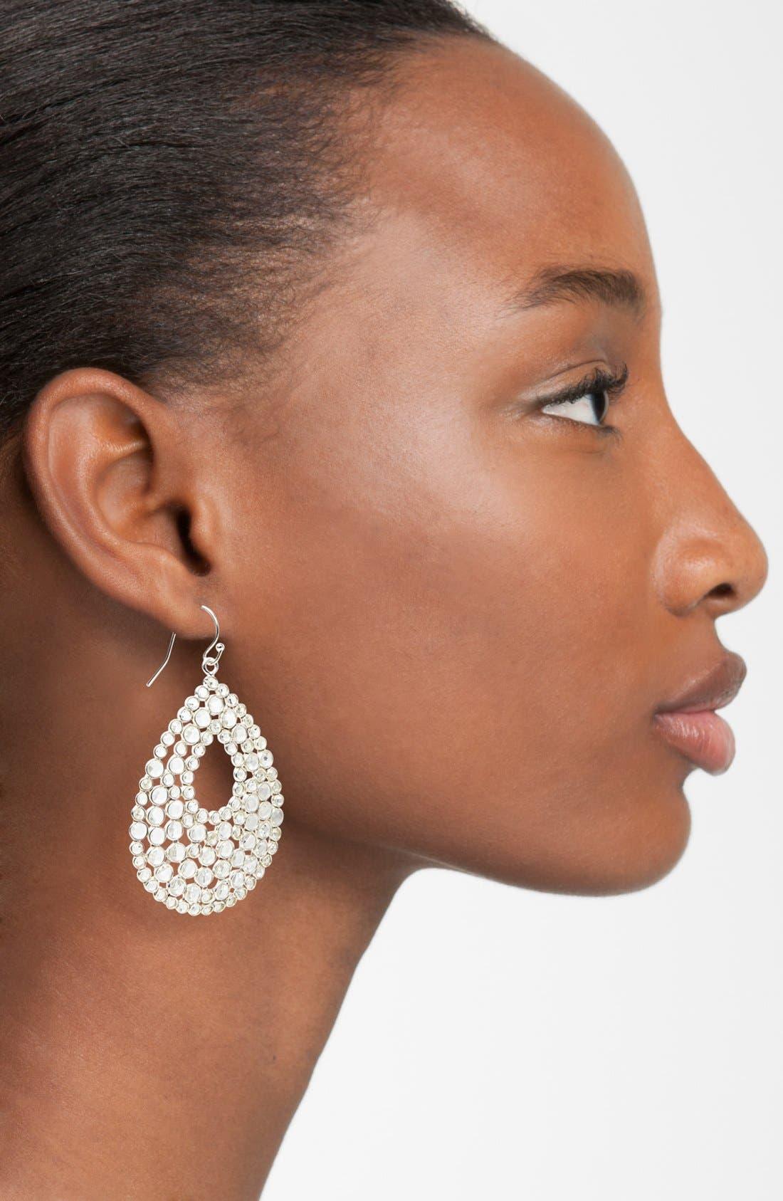 Alternate Image 2  - NuNu Designs Teardrop Earrings
