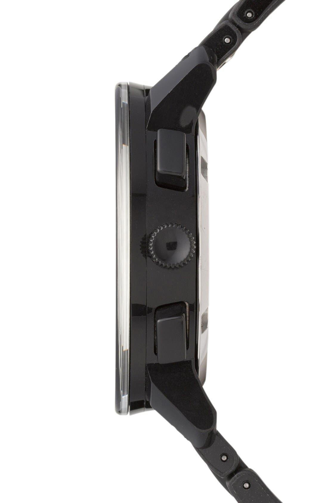 Alternate Image 2  - Movado 'Bold Chrono' Carbon Fiber Dial Watch, 44mm