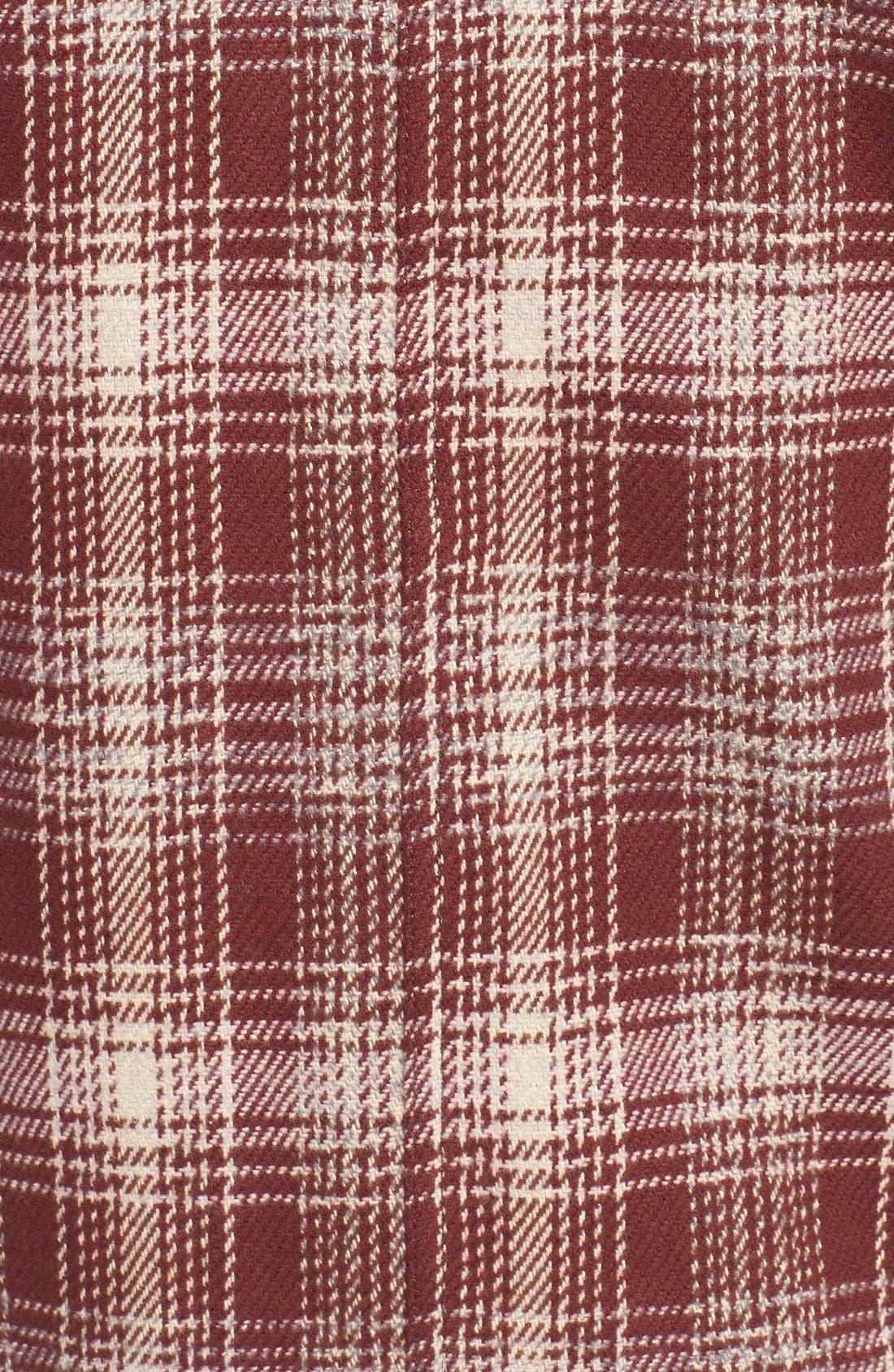 Alternate Image 3  - Marshall Artist Plaid Coat