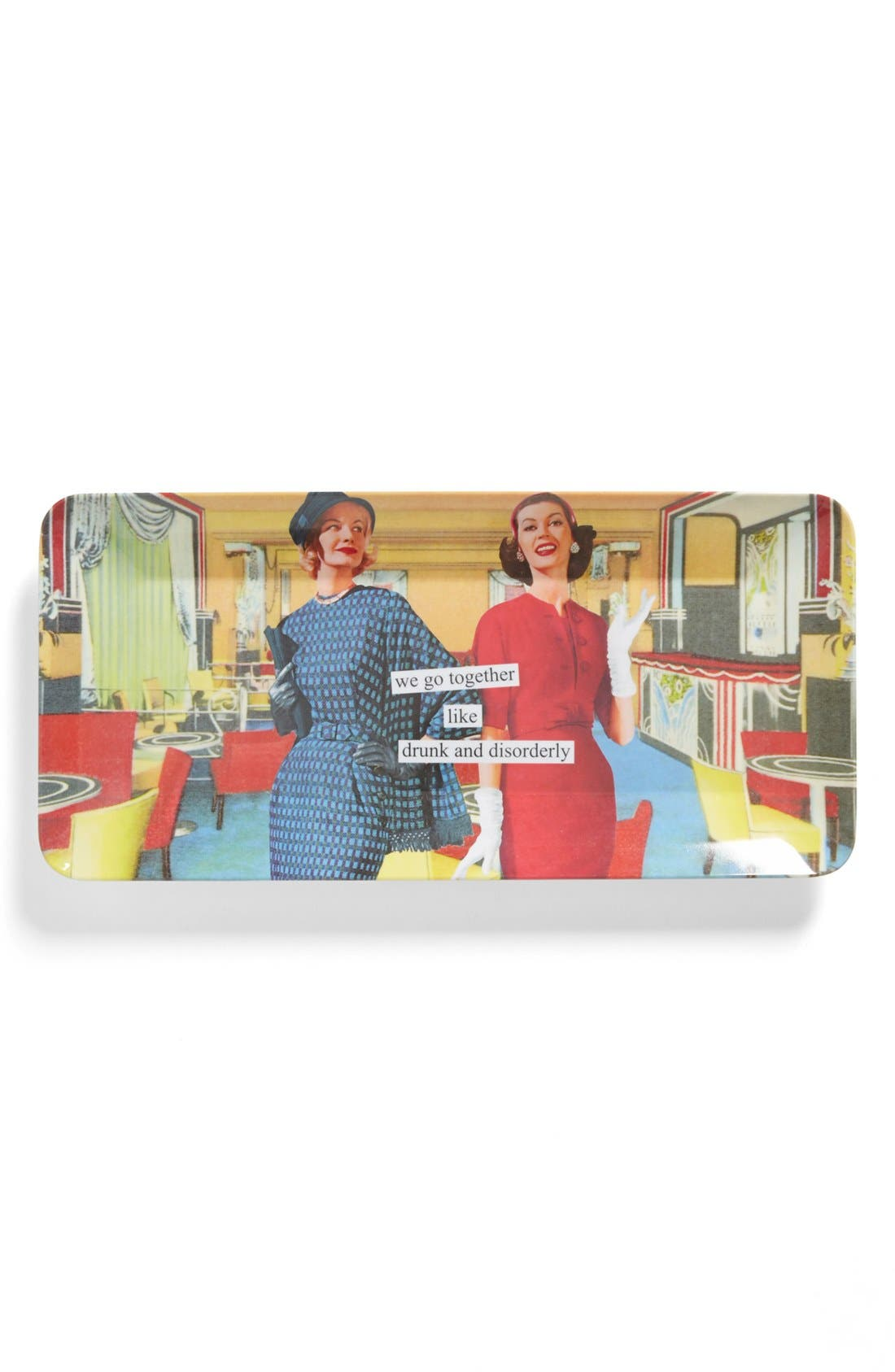 Alternate Image 1 Selected - Anne Taintor 'Drunk and Disorderly' Platter
