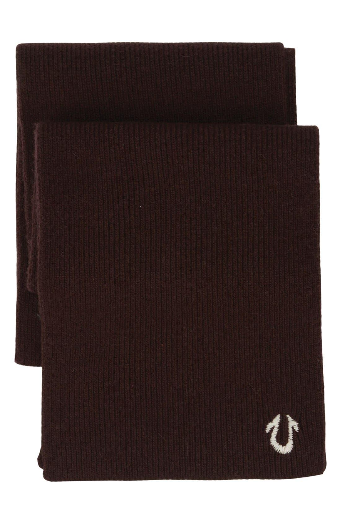 Main Image - True Religion Brand Jeans Rib Knit Scarf