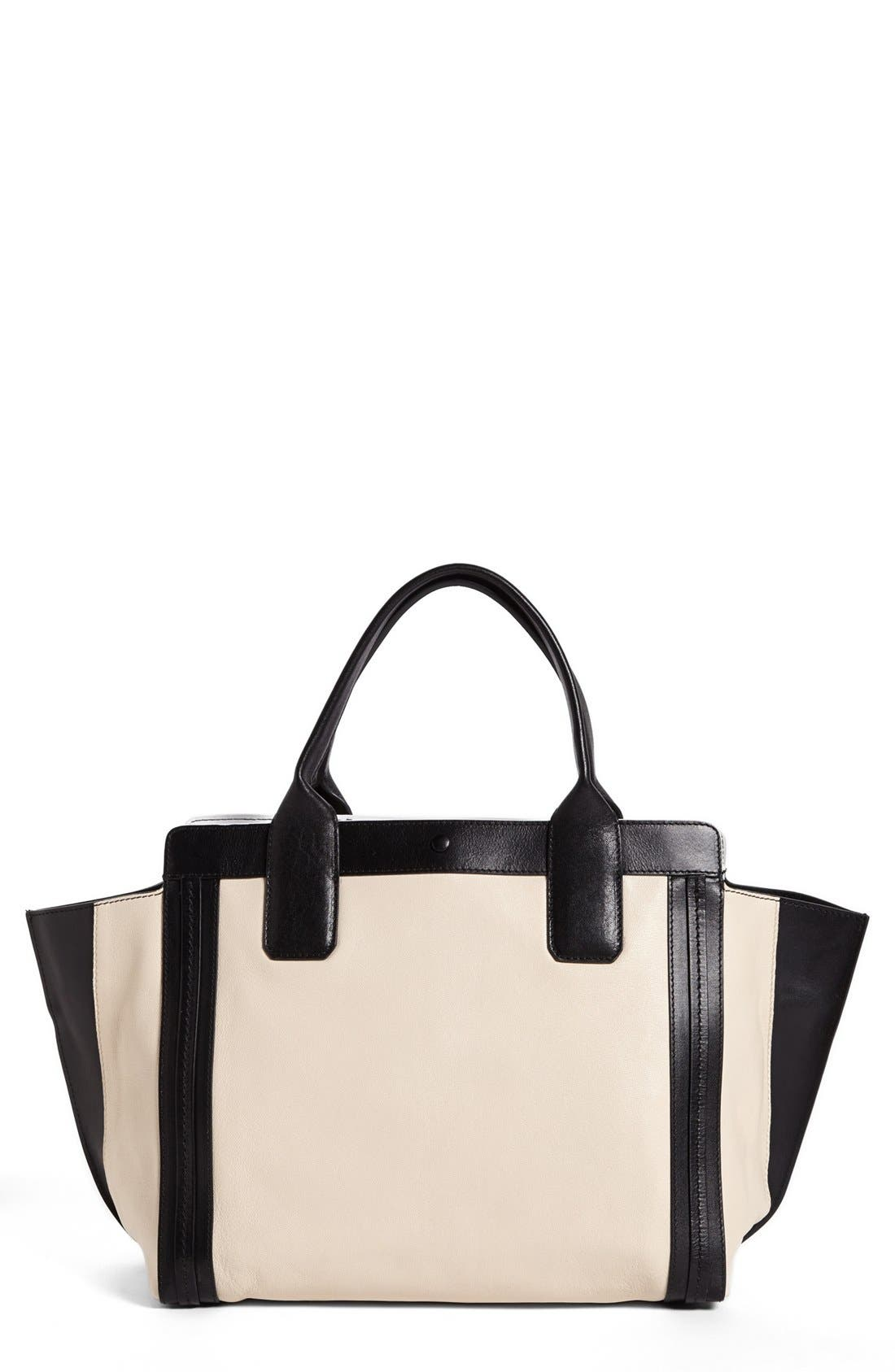 Alternate Image 1 Selected - Chloé 'Alison - Small' Leather Tote