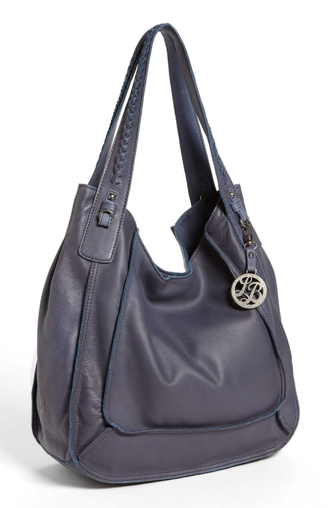 Alternate Image 1 Selected - Lucky Brand 'Montgomery' Leather Tote