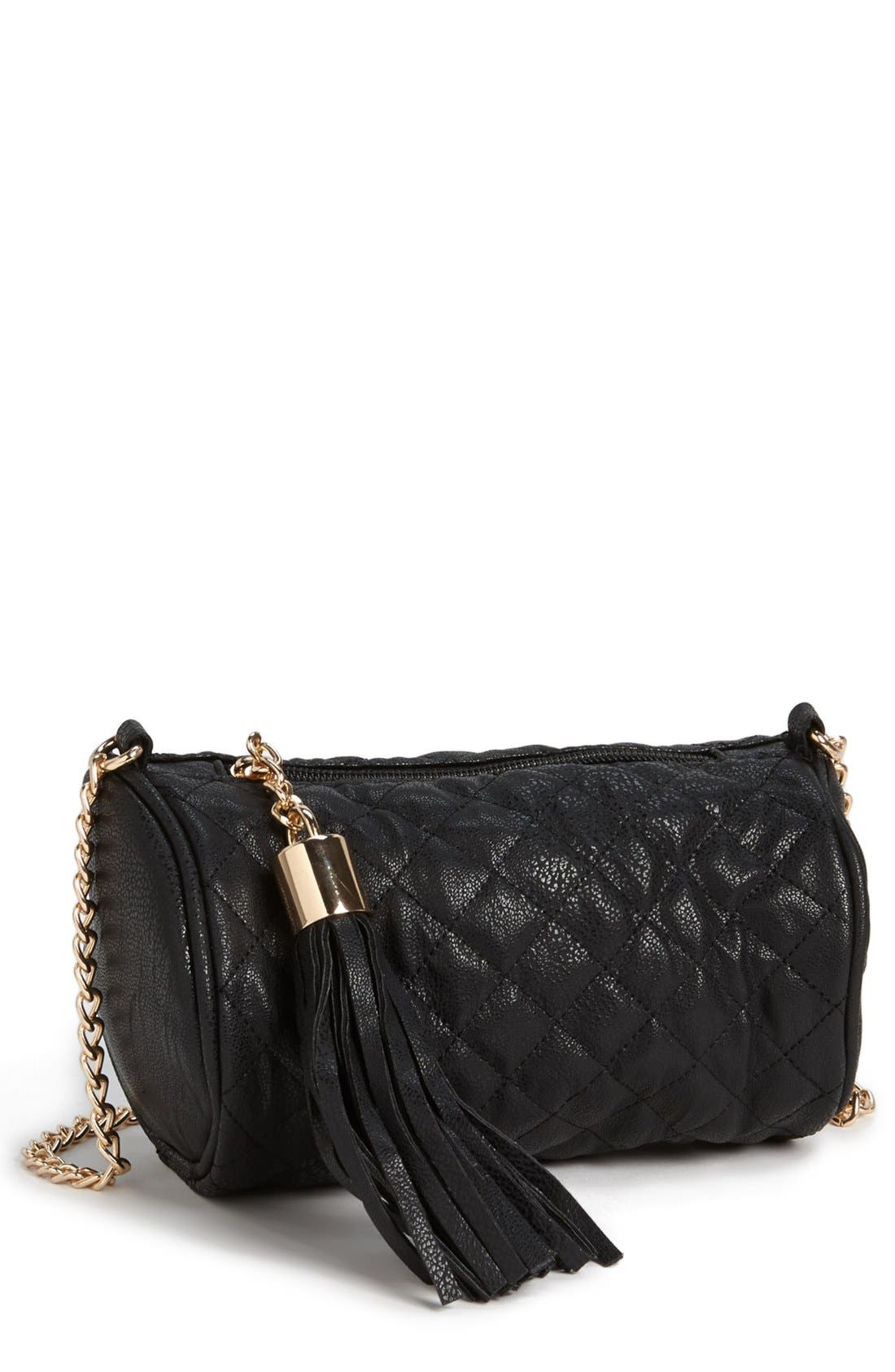 Main Image - Tildon Quilted Crossbody Bag