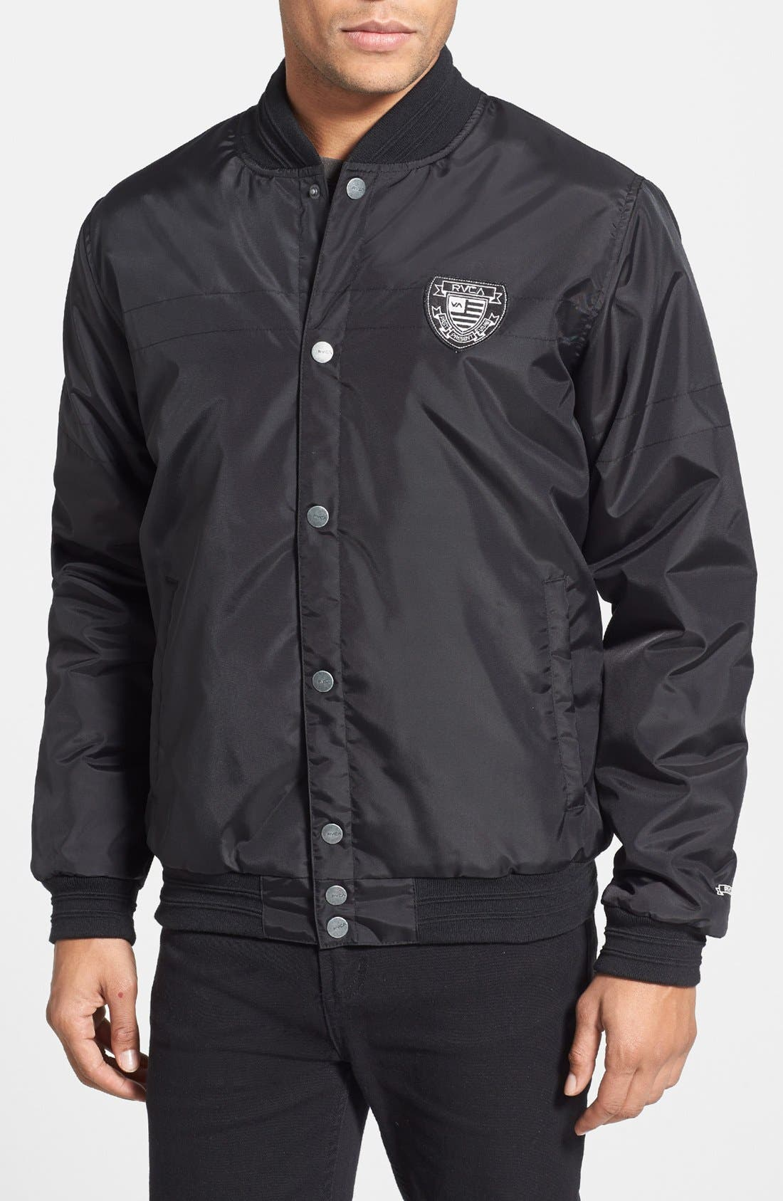 Alternate Image 1 Selected - RVCA 'Rally' Bomber Jacket