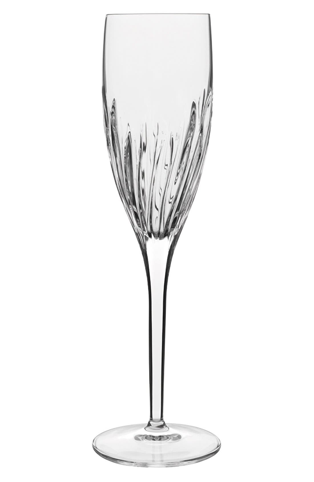 'Incanto' Champagne Flutes,                             Main thumbnail 1, color,                             Clear