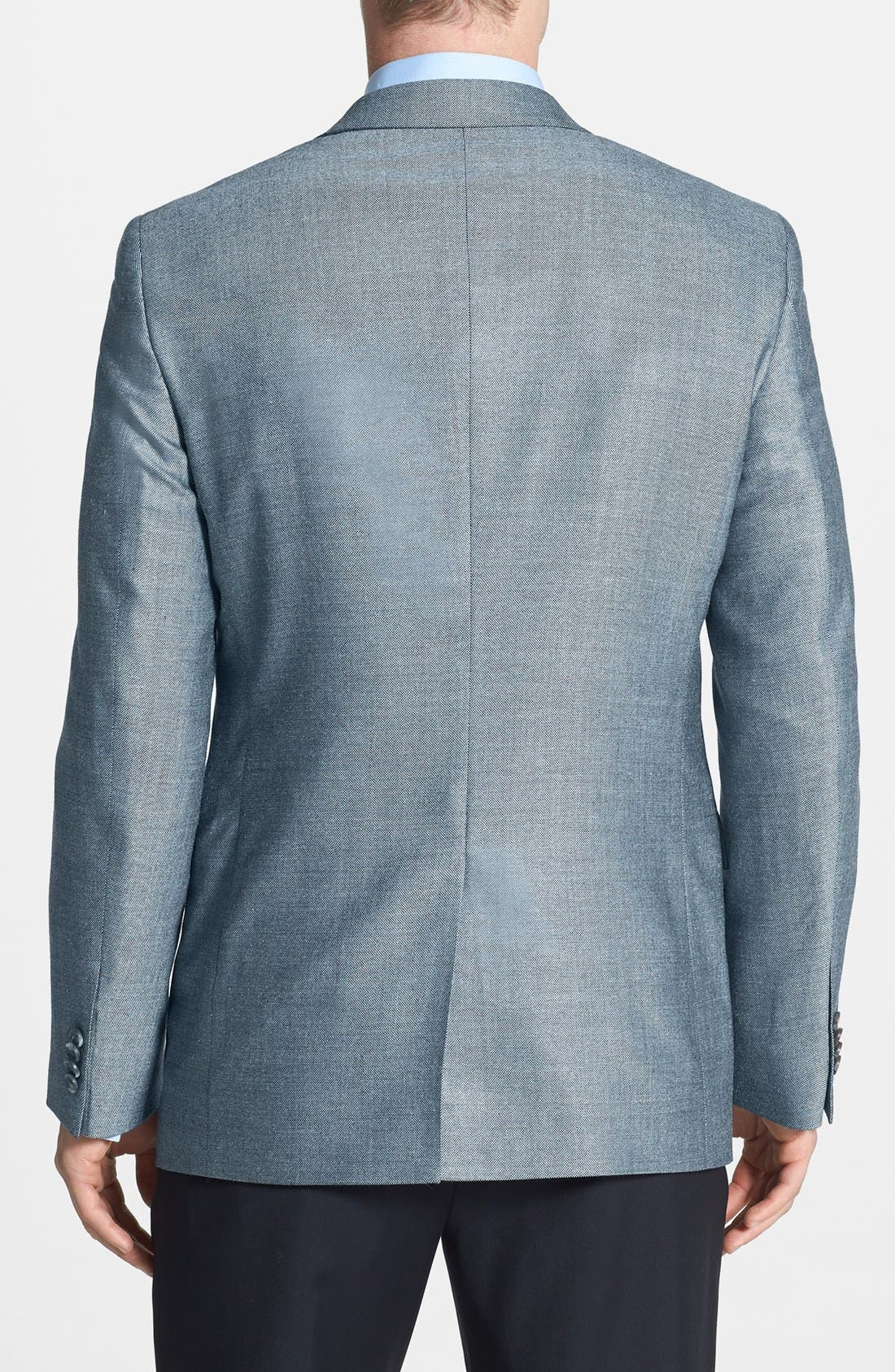Alternate Image 2  - John W. Nordstrom® Classic Fit Silk Blend Sportcoat