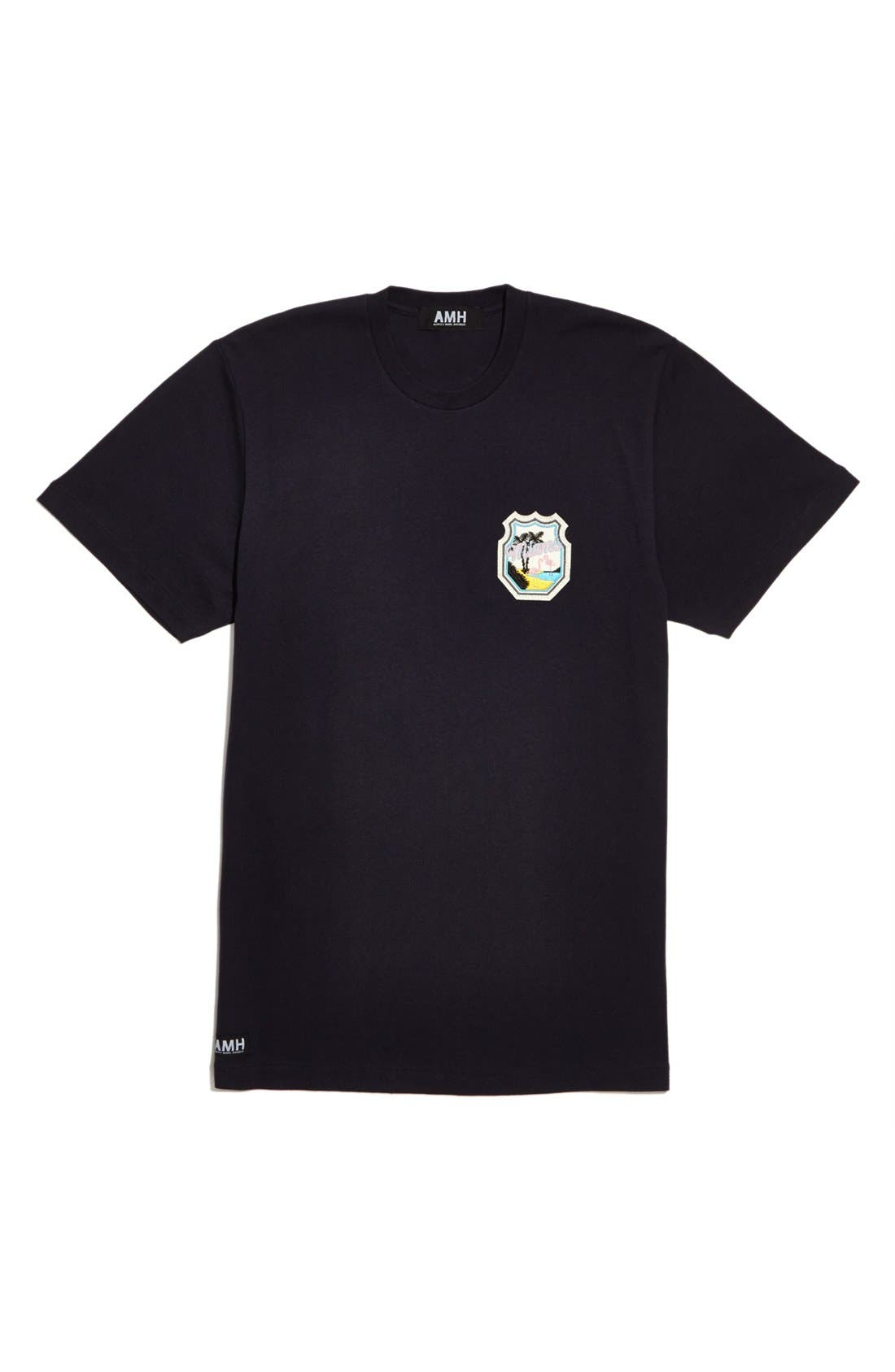 Alternate Image 1 Selected - AMH - Ashley Marc Hovelle 'Miami City Badge' T-Shirt