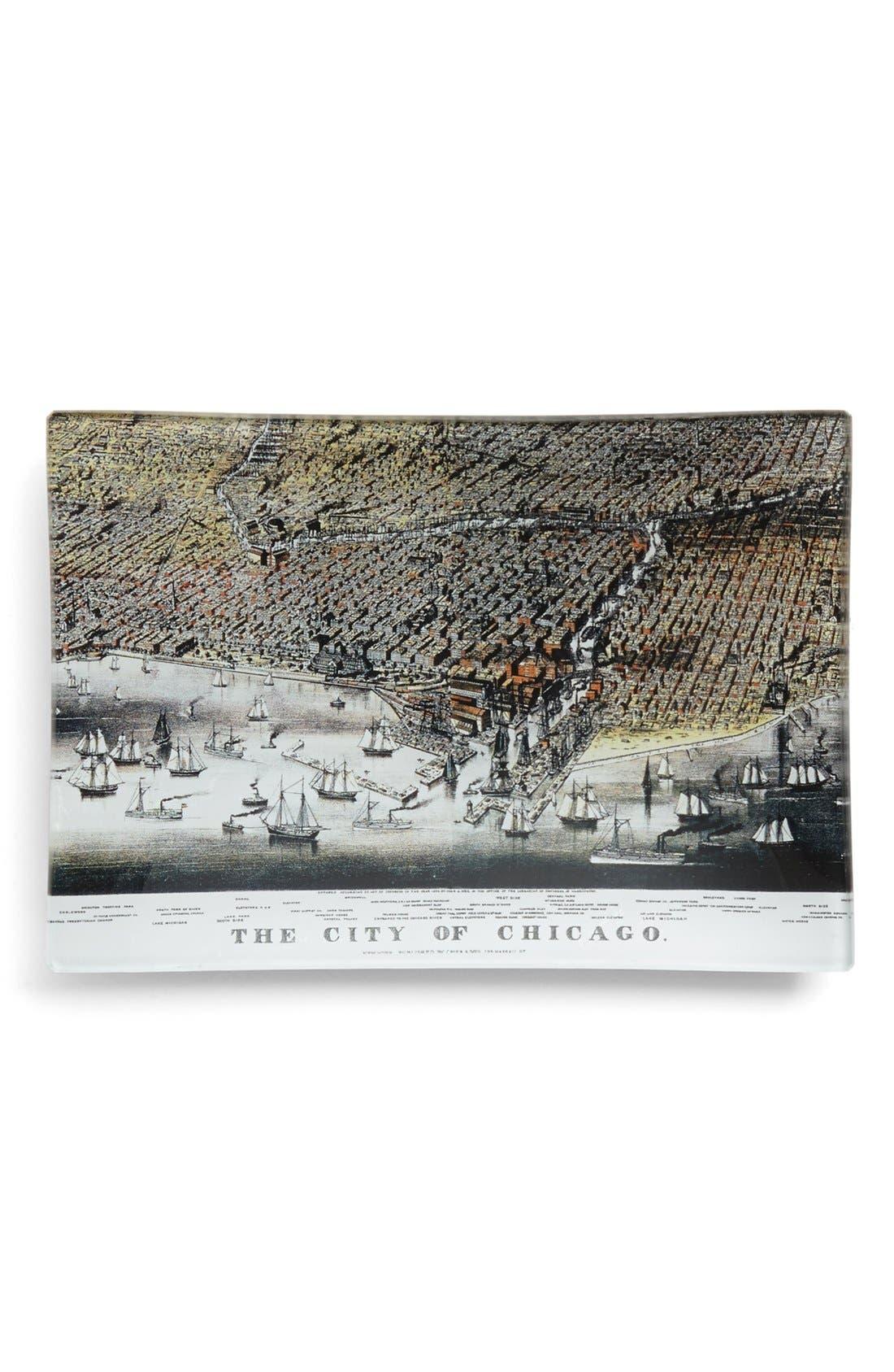 Main Image - Ben's Garden 'Chicago Map' Tray