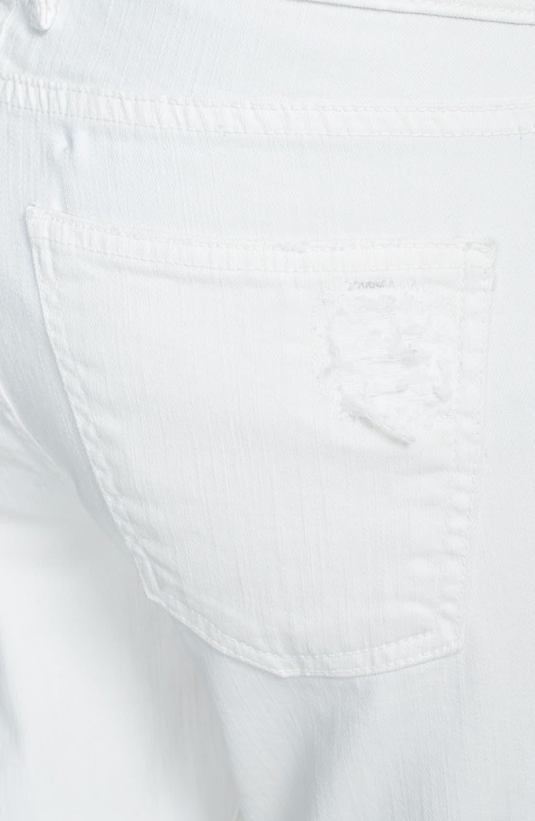 Alternate Image 3  - Current/Elliott 'The Stiletto' Jeans (Dirty White)