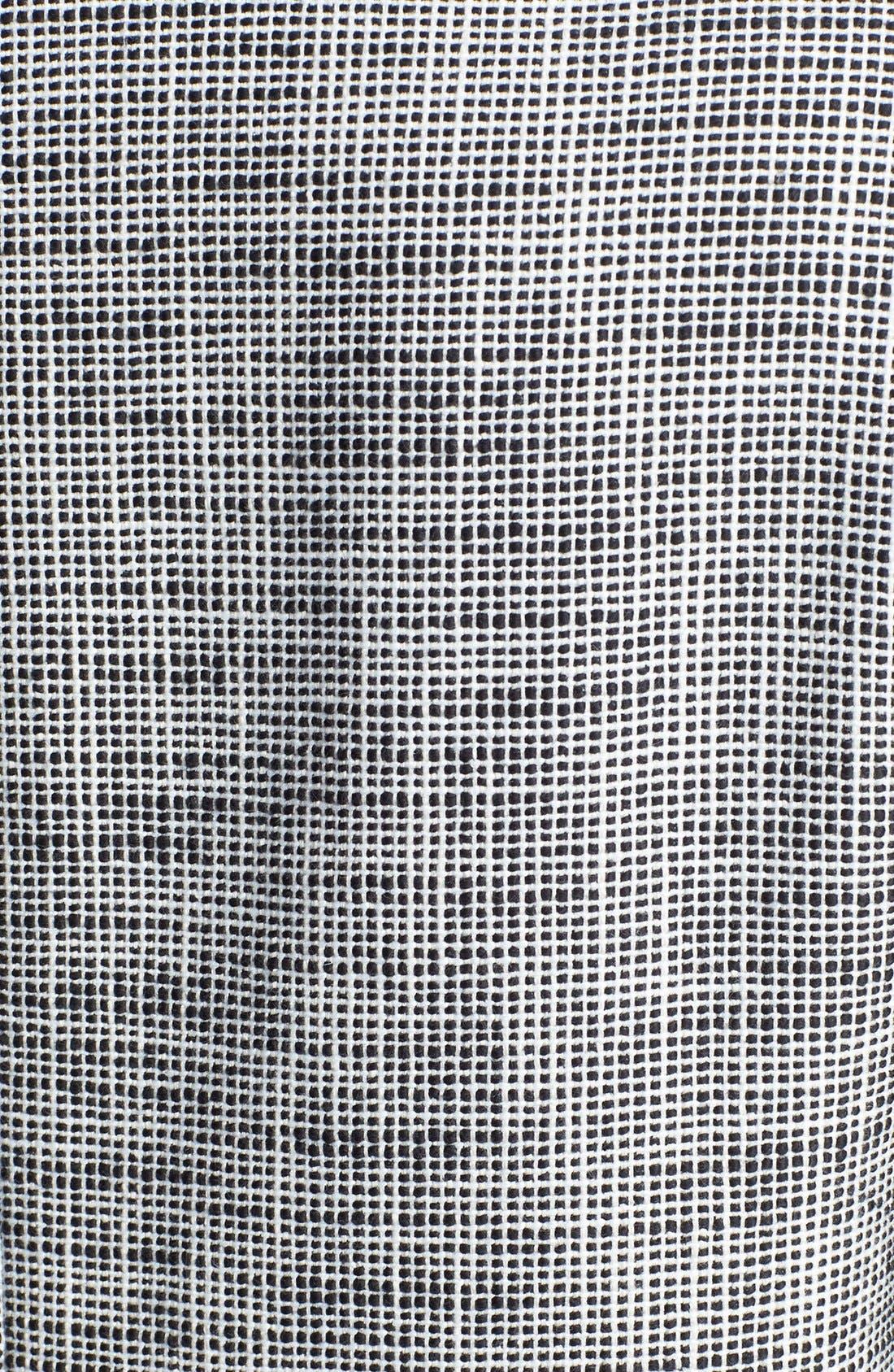 Alternate Image 4  - Trouvé Leather Trim Tweed Coat