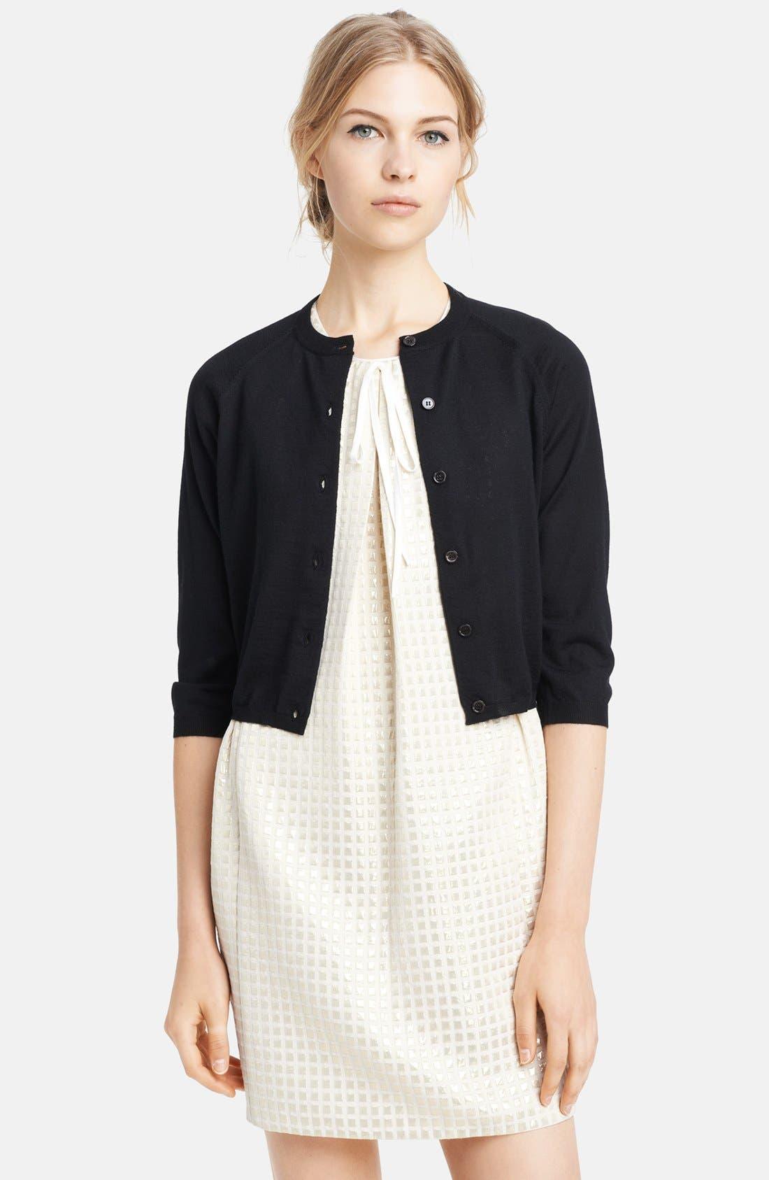Alternate Image 1 Selected - Marni Crop Cashmere Cardigan