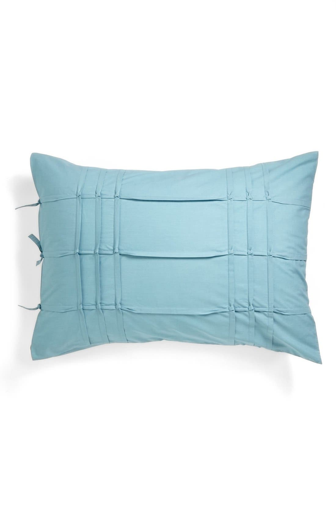 'Carson' Pillow Sham,                             Main thumbnail 1, color,                             Teal Waters