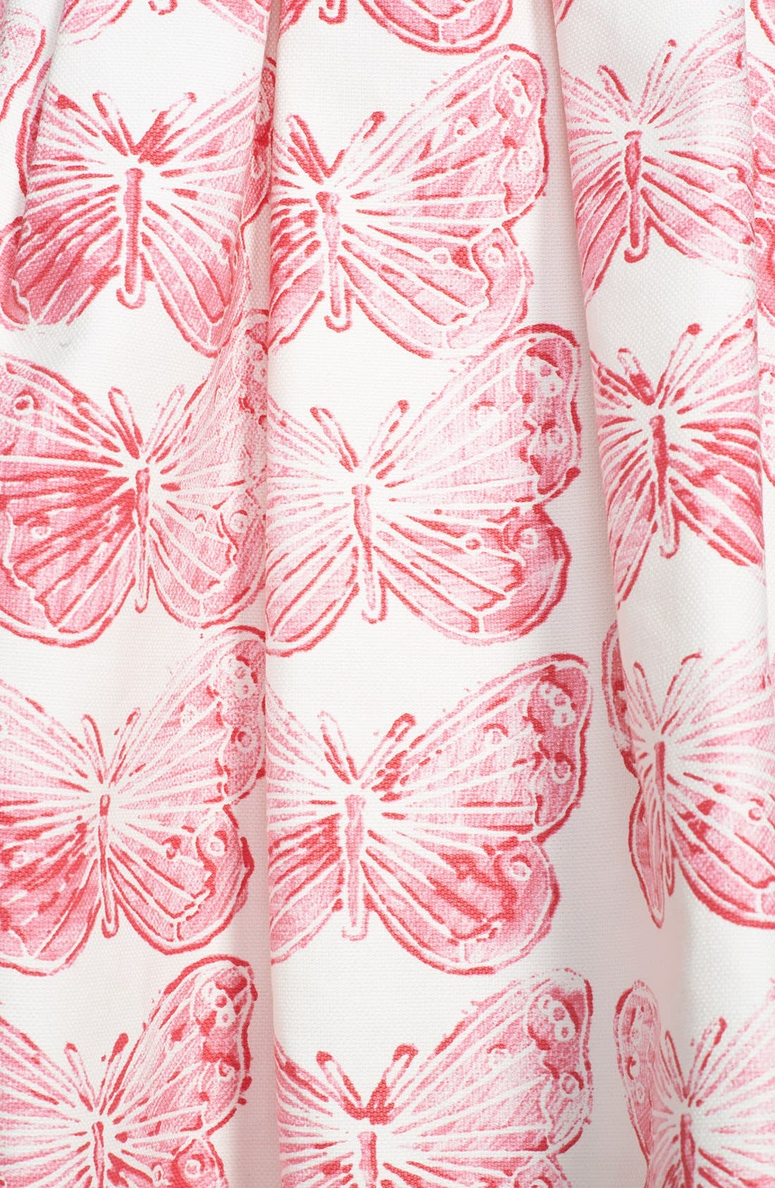Alternate Image 3  - RED Valentino Butterfly Print Pleated Skirt