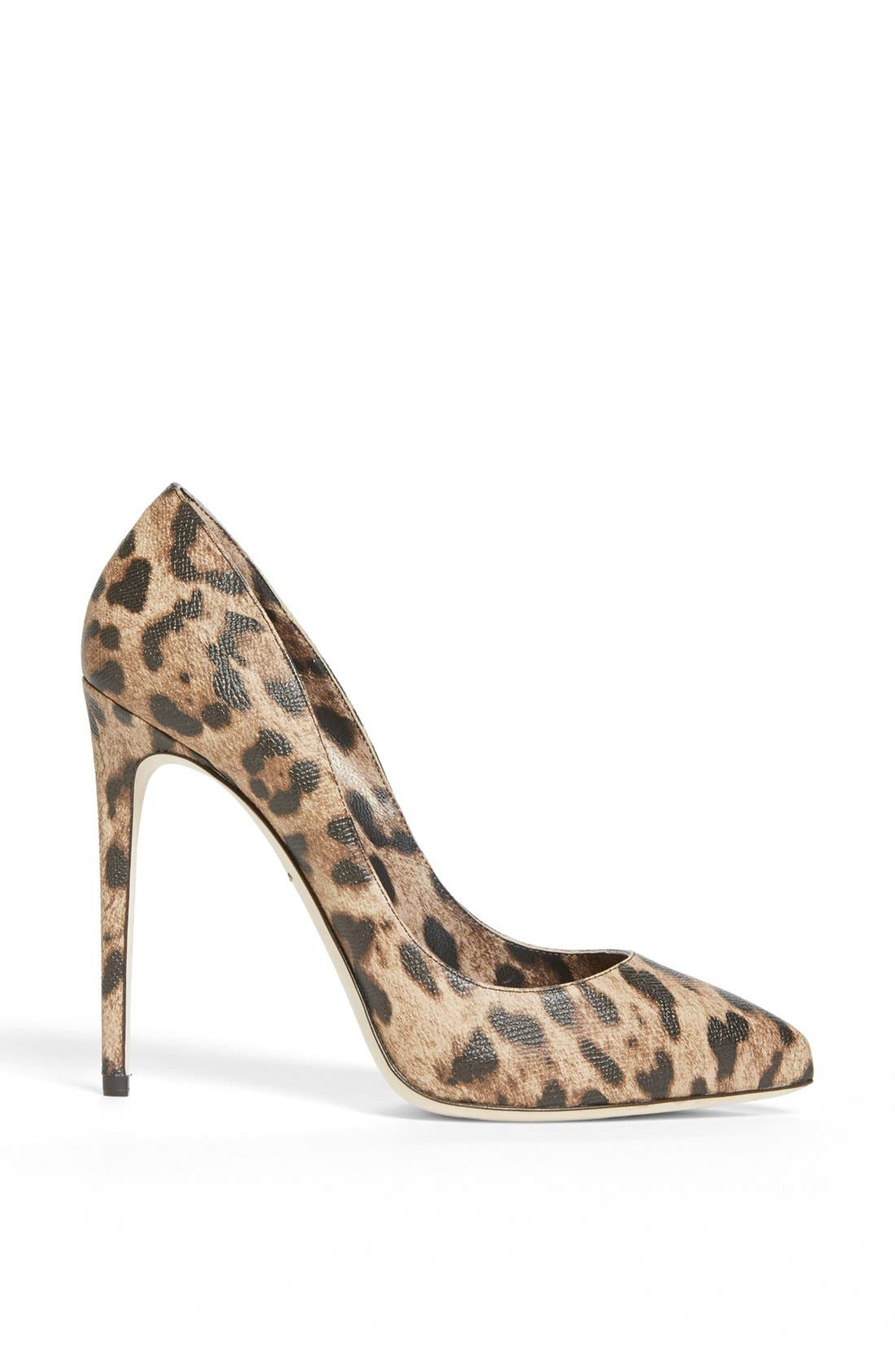 Alternate Image 4  - Dolce&Gabbana Pointed Toe Pump