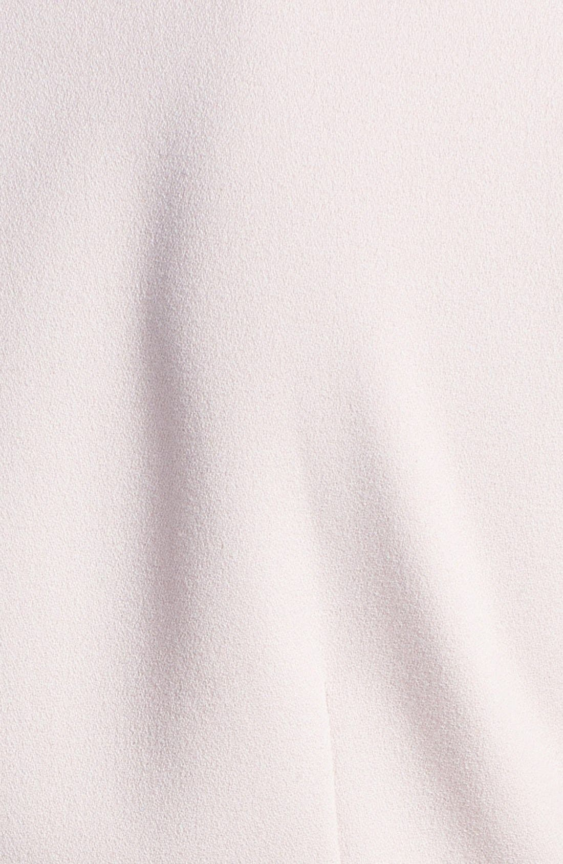Alternate Image 3  - Tahari Two-Tone Crepe Fit & Flare Dress