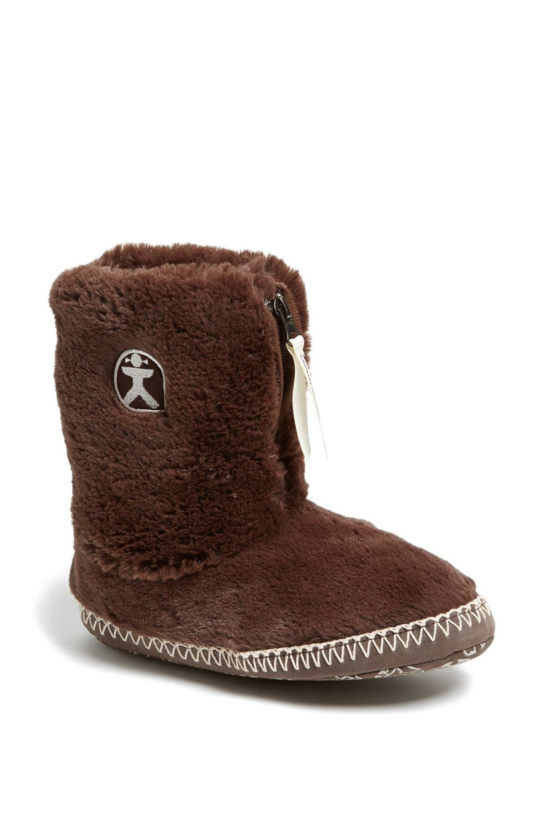Main Image - Bedroom Athletics 'Marilyn' Faux Fur Bootie Slipper