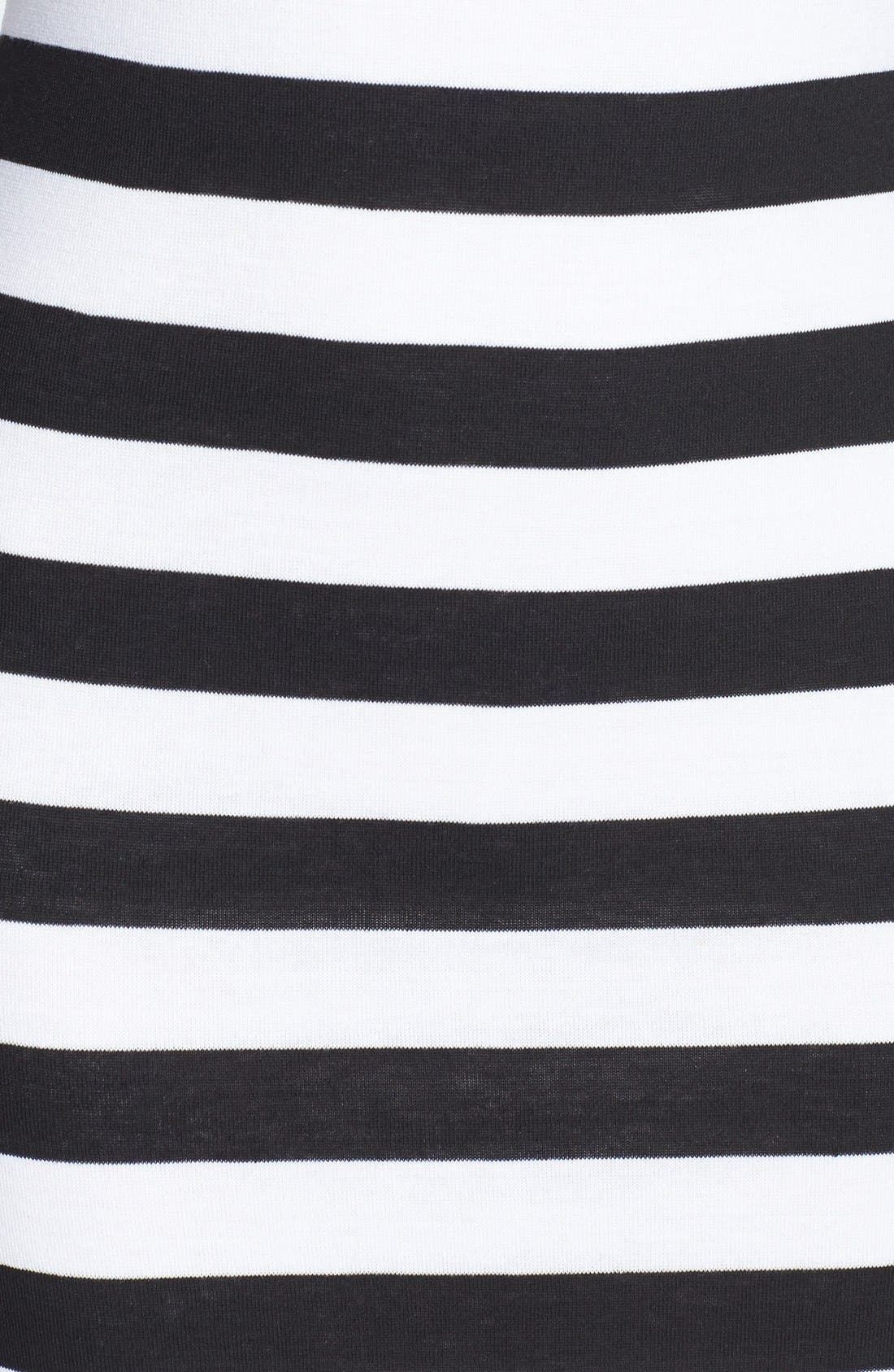 Alternate Image 3  - Minty Stripe Midi Dress (Juniors)