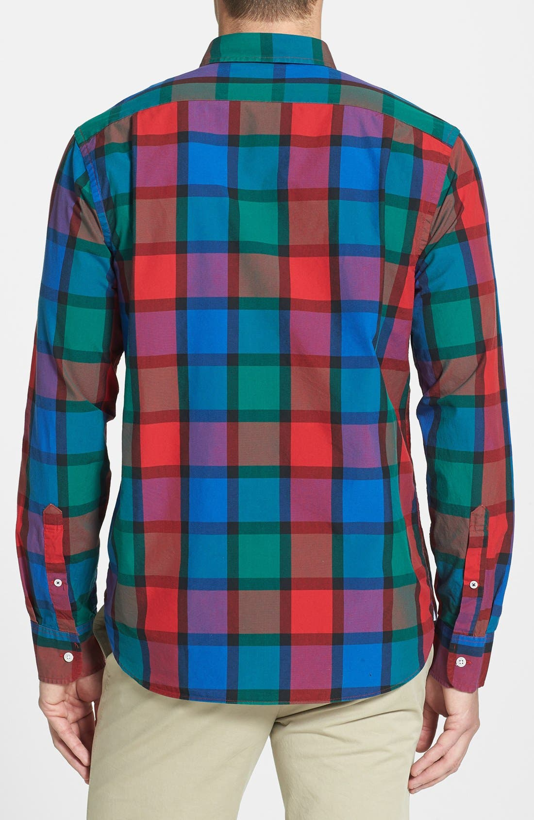Alternate Image 2  - Bonobos 'Hinsdale' Standard Fit Plaid Sport Shirt